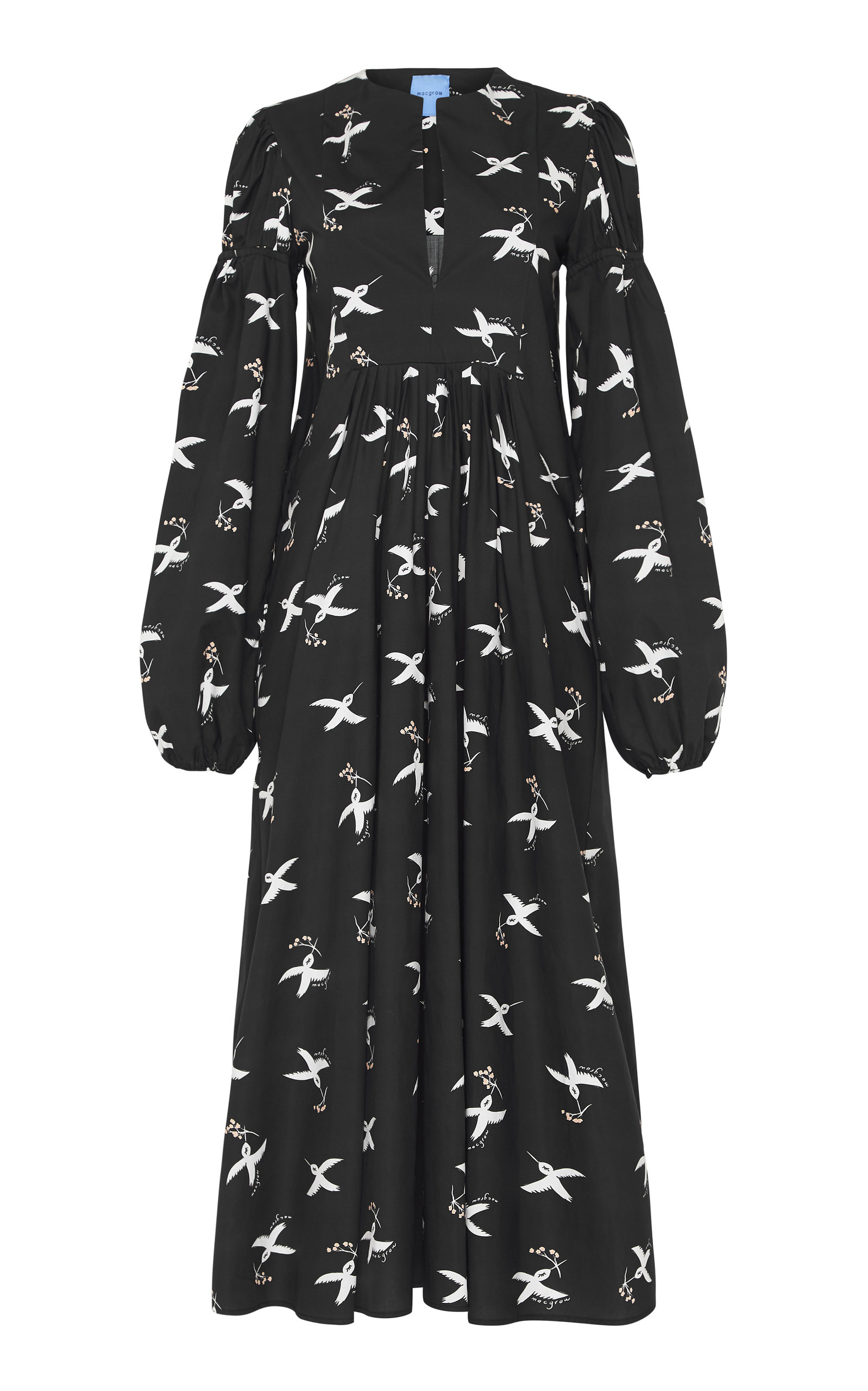 Buy macgraw Hibernation Printed Cotton Dress online, shop macgraw at the best price