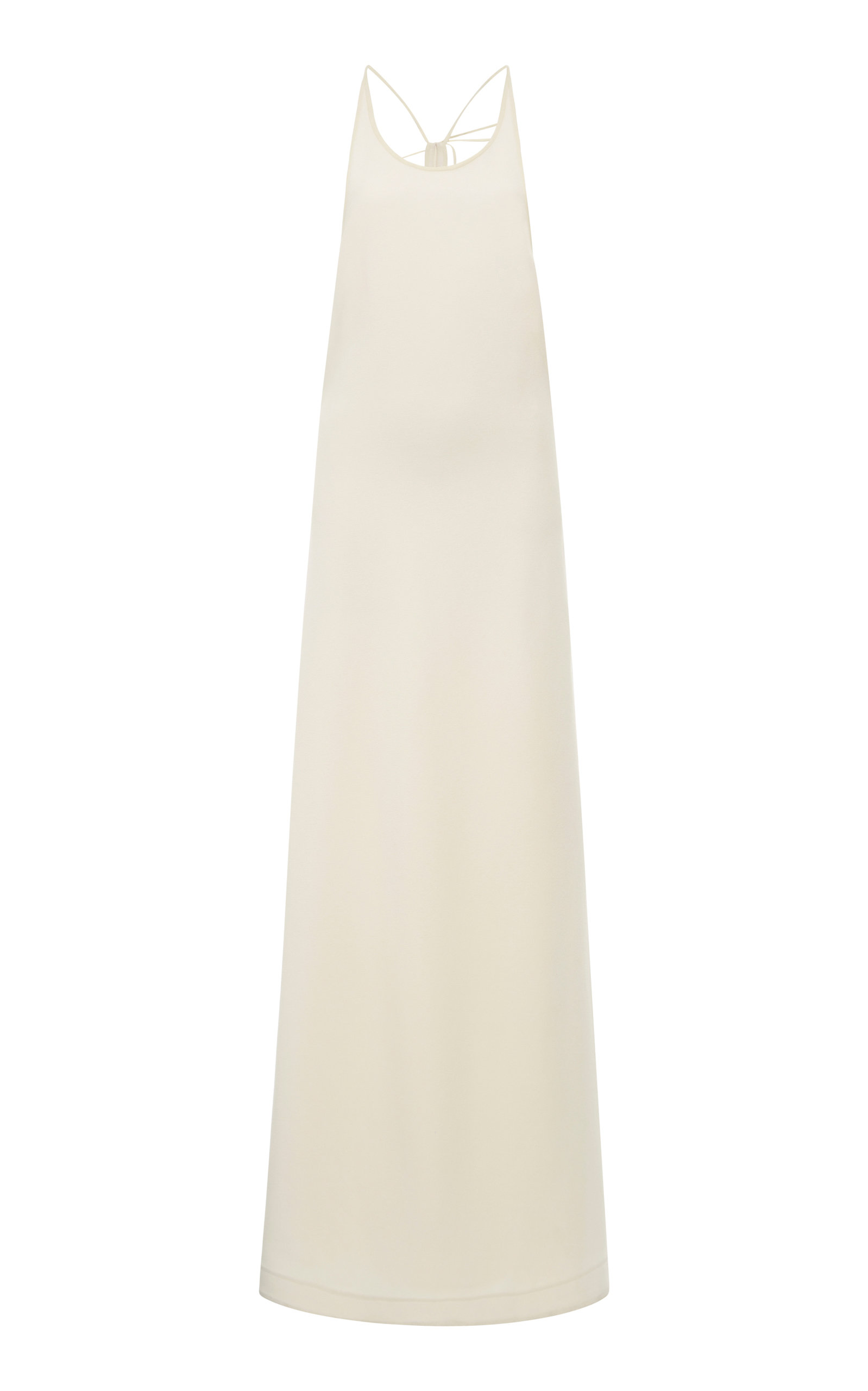 Buy Jil Sander Strappy Stretch-Satin Halter Dress online, shop Jil Sander at the best price
