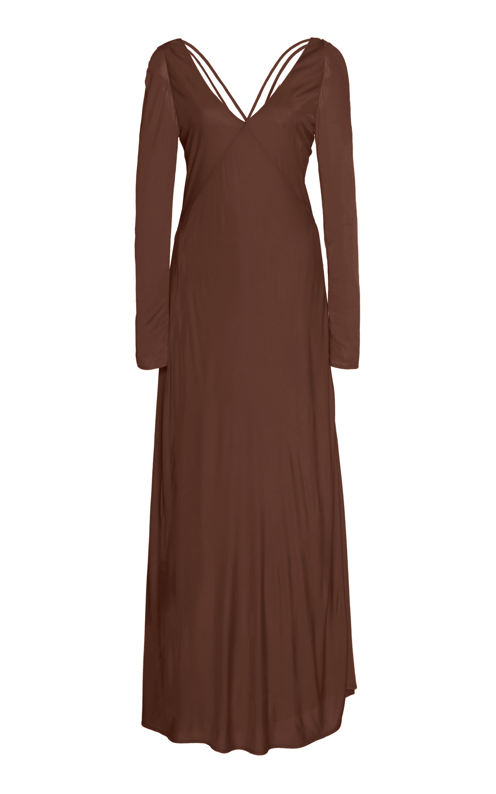 Buy Cult Gaia Becca Satin-Jersey Empire Dress online, shop Cult Gaia at the best price
