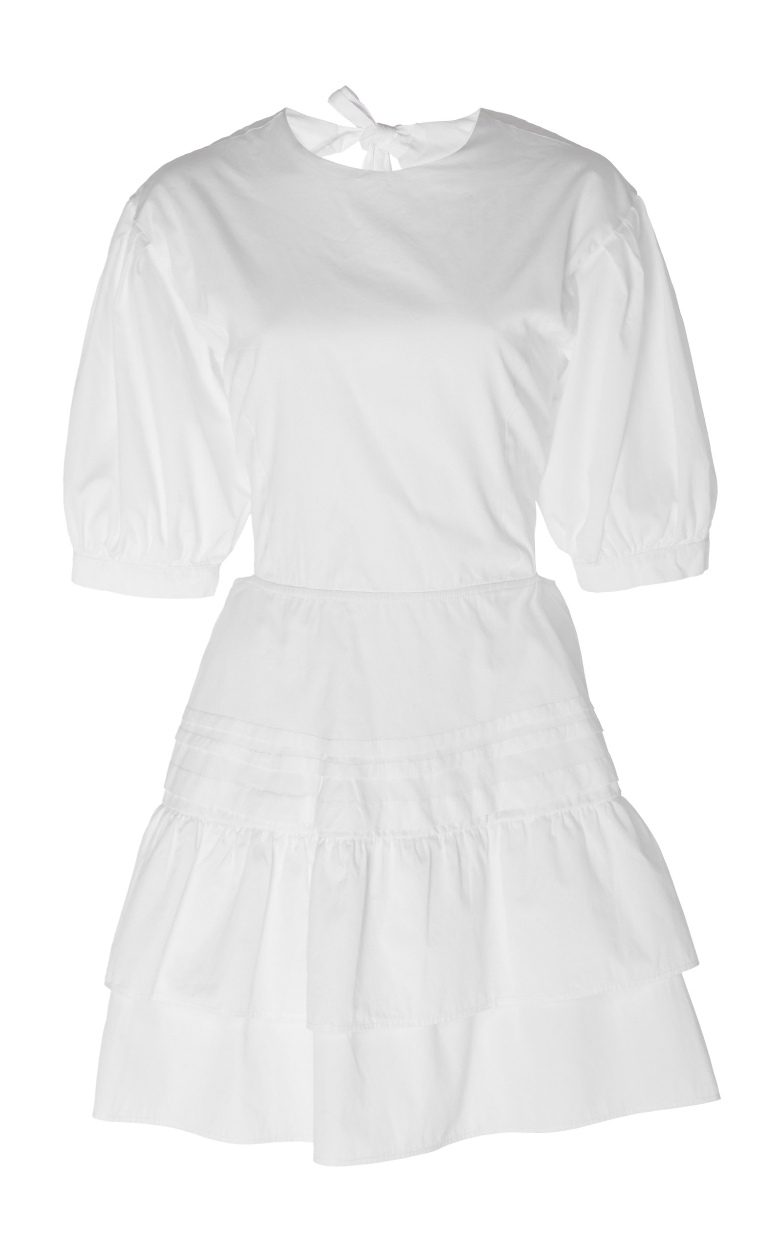Buy Sir The Label Delilah Lace-Up Cotton-Poplin Mini Dress online, shop Sir The Label at the best price