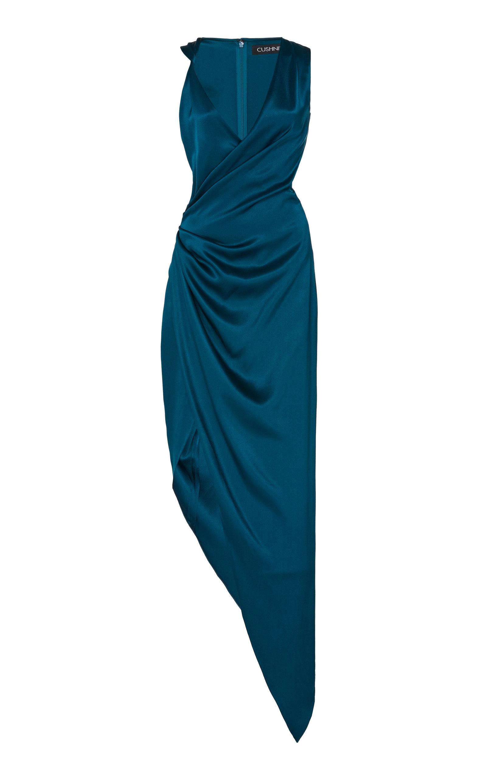 Buy Cushnie Asymmetric Silk Gown online, shop Cushnie at the best price