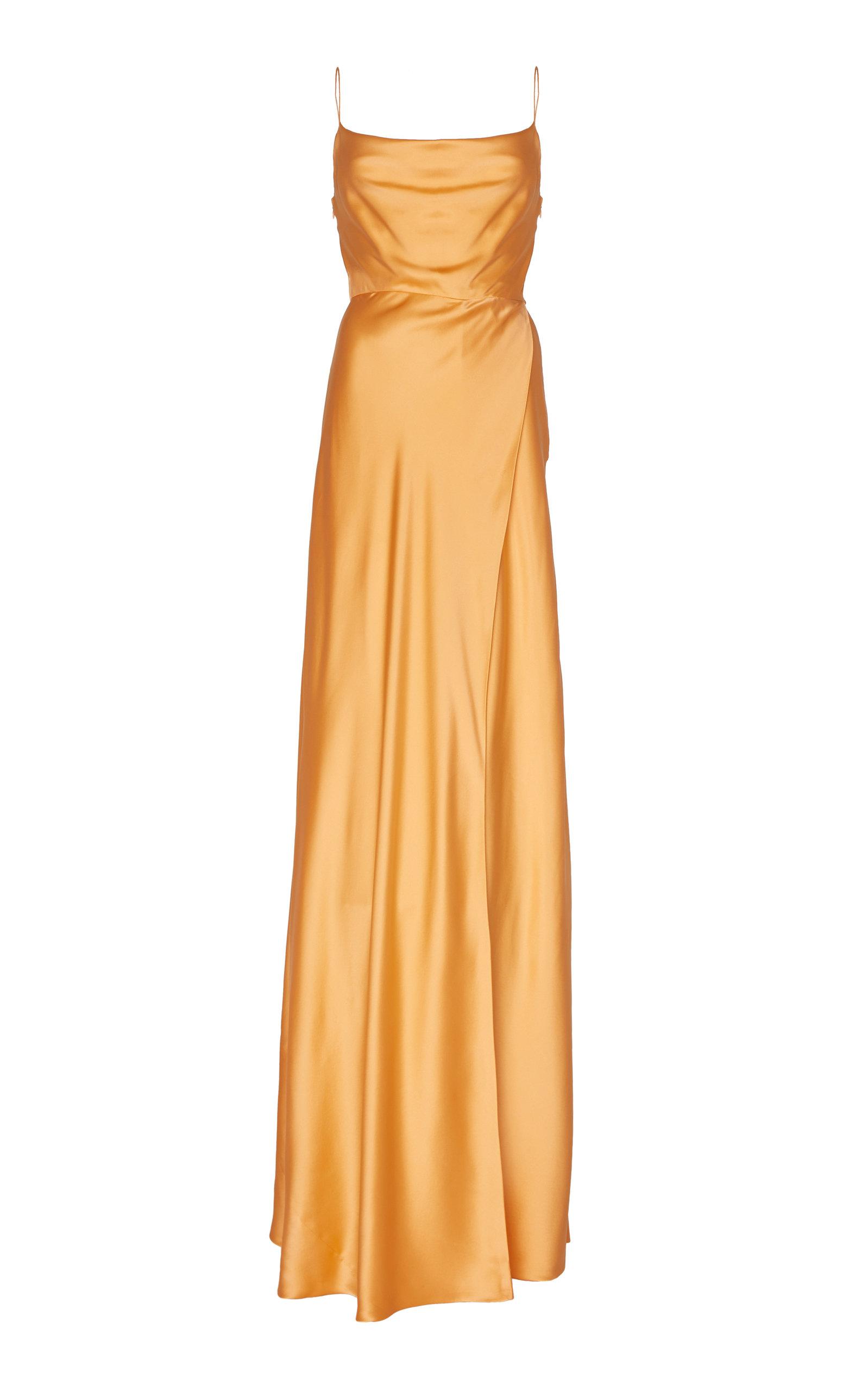 Buy Markarian Greta Silk-Satin Gown online, shop Markarian at the best price
