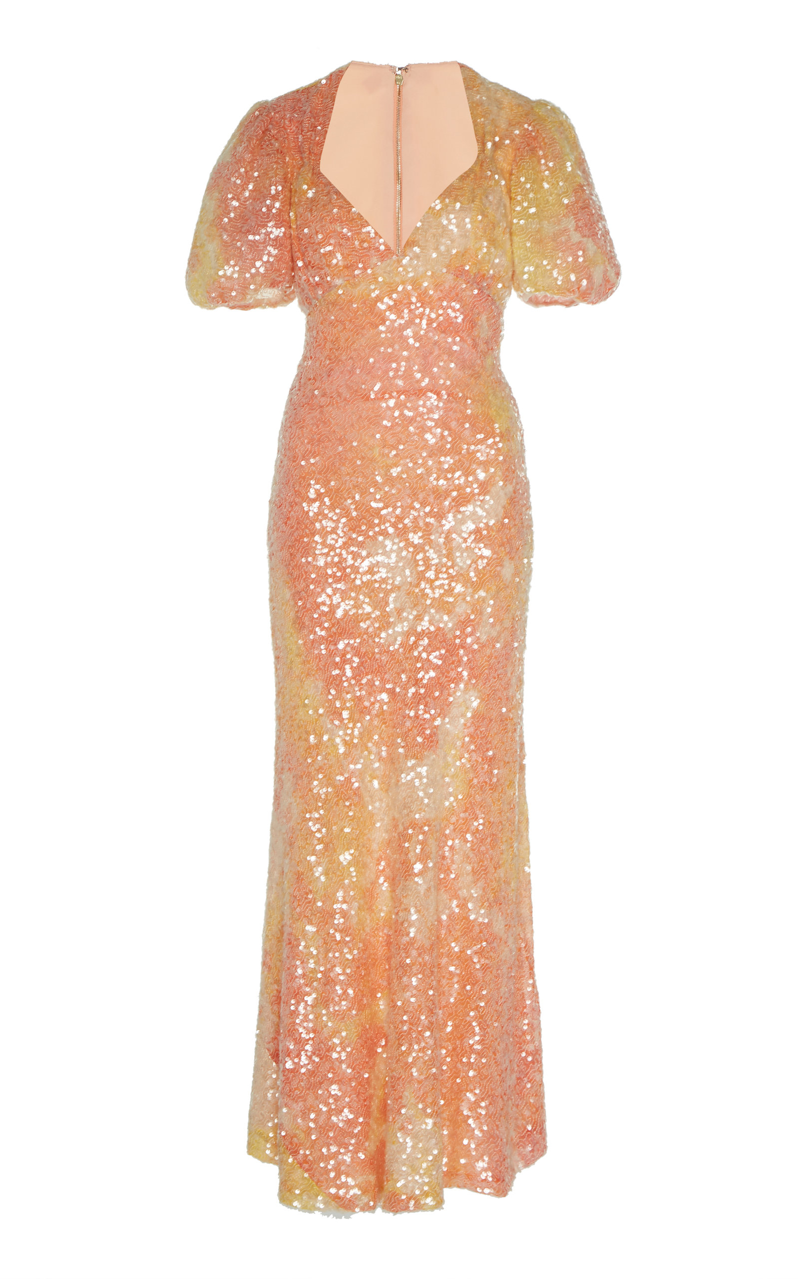 Buy Markarian Harlow Sequin-Embellished Empire Dress online, shop Markarian at the best price