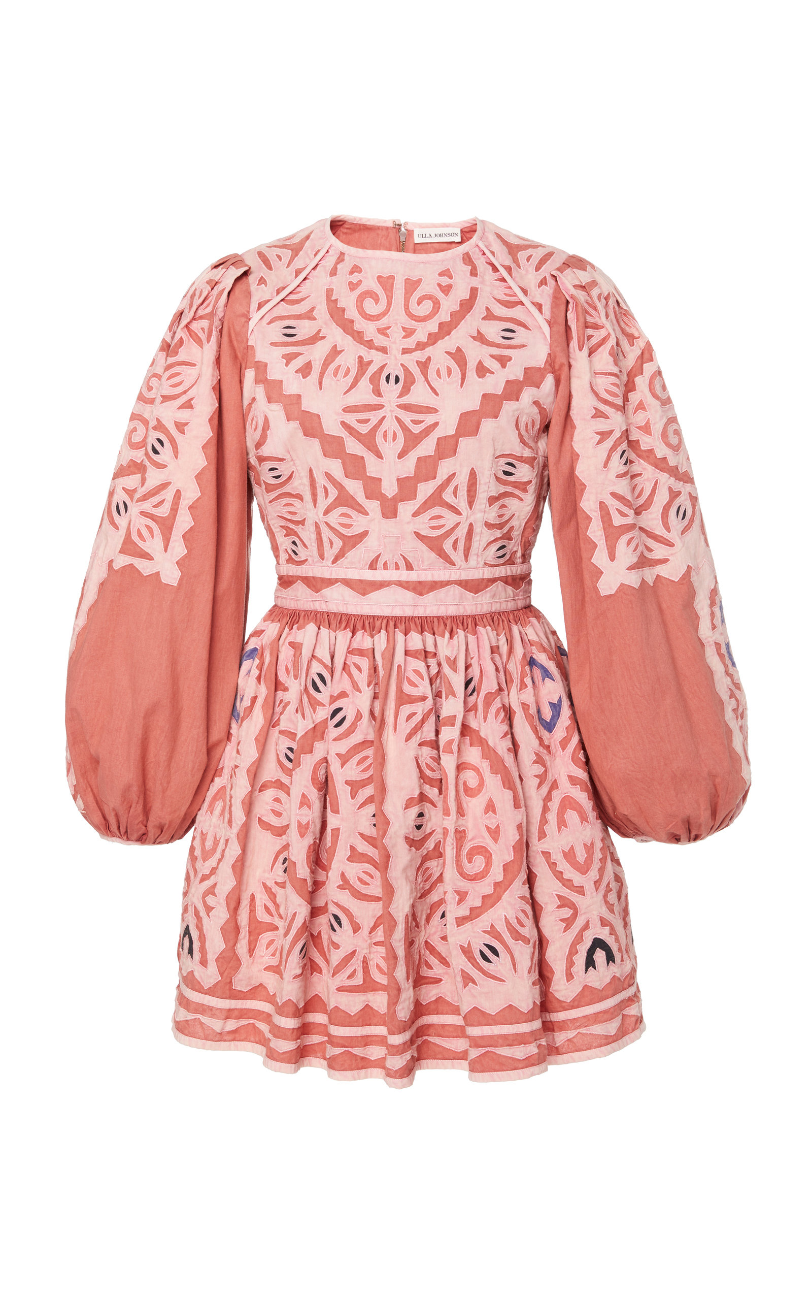 Buy Ulla Johnson Omaira Embroidered Cotton Dress online, shop Ulla Johnson at the best price