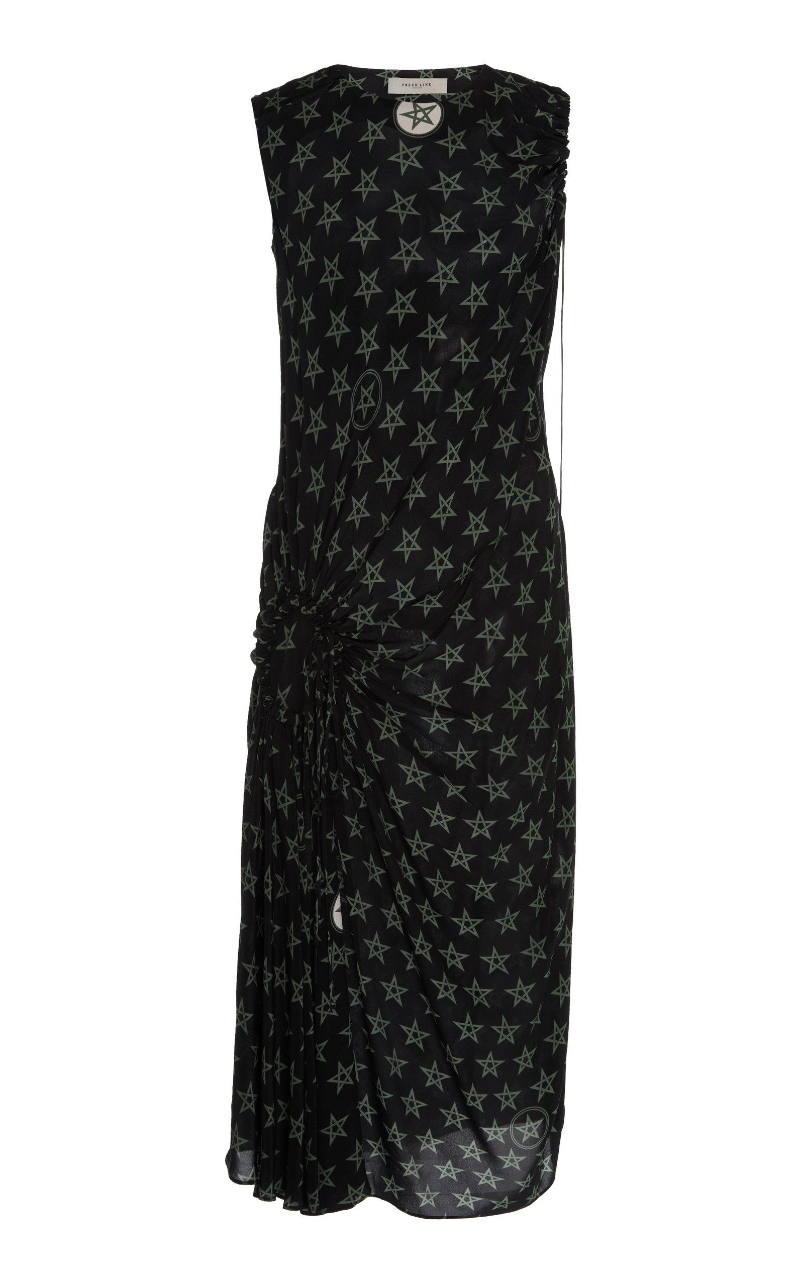Buy Preen Line Aida Star-Print Jersey Dress online, shop Preen Line at the best price