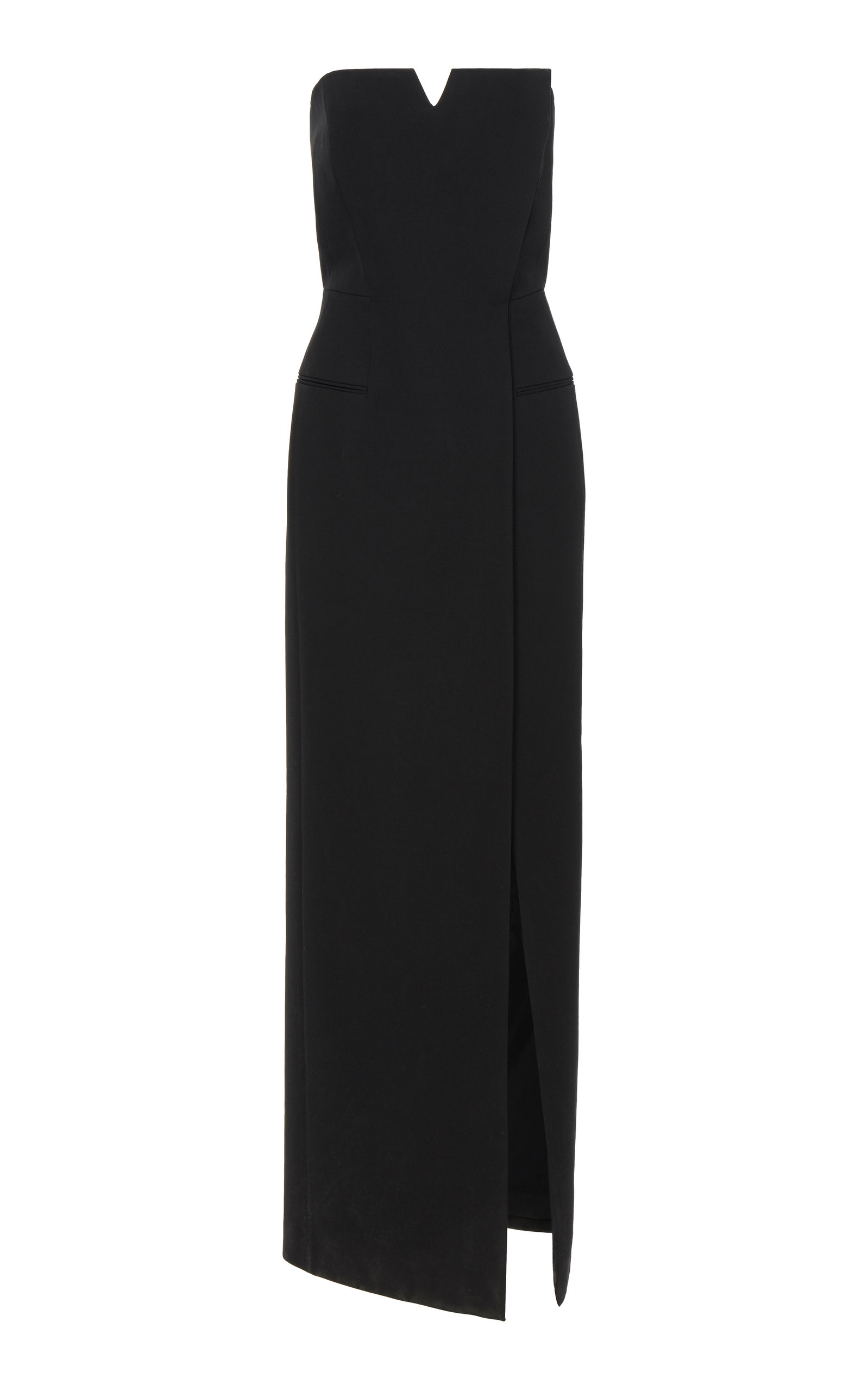Buy Givenchy Strapless Wrap-Effect Cady Gown online, shop Givenchy at the best price