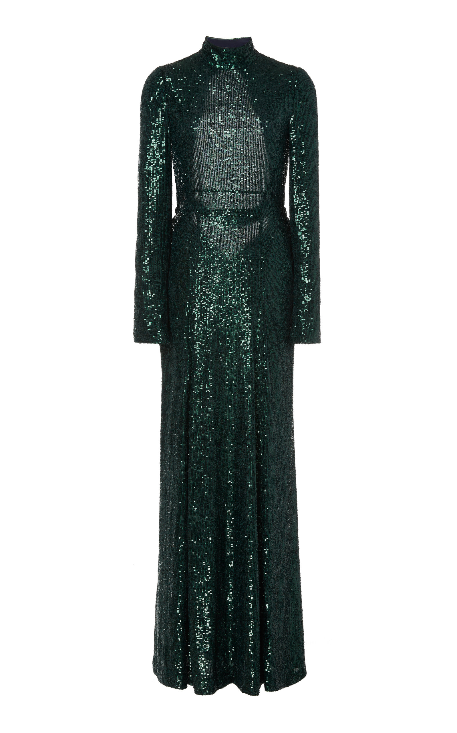 Buy Galvan Modern Love Sequin-Embellished Cady Backless Dress online, shop Galvan at the best price
