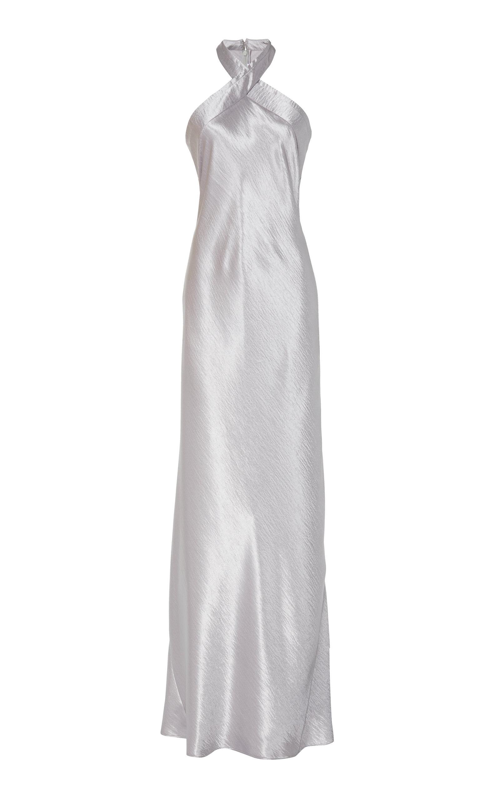 Buy Galvan Eve Silk-Satin Gown online, shop Galvan at the best price