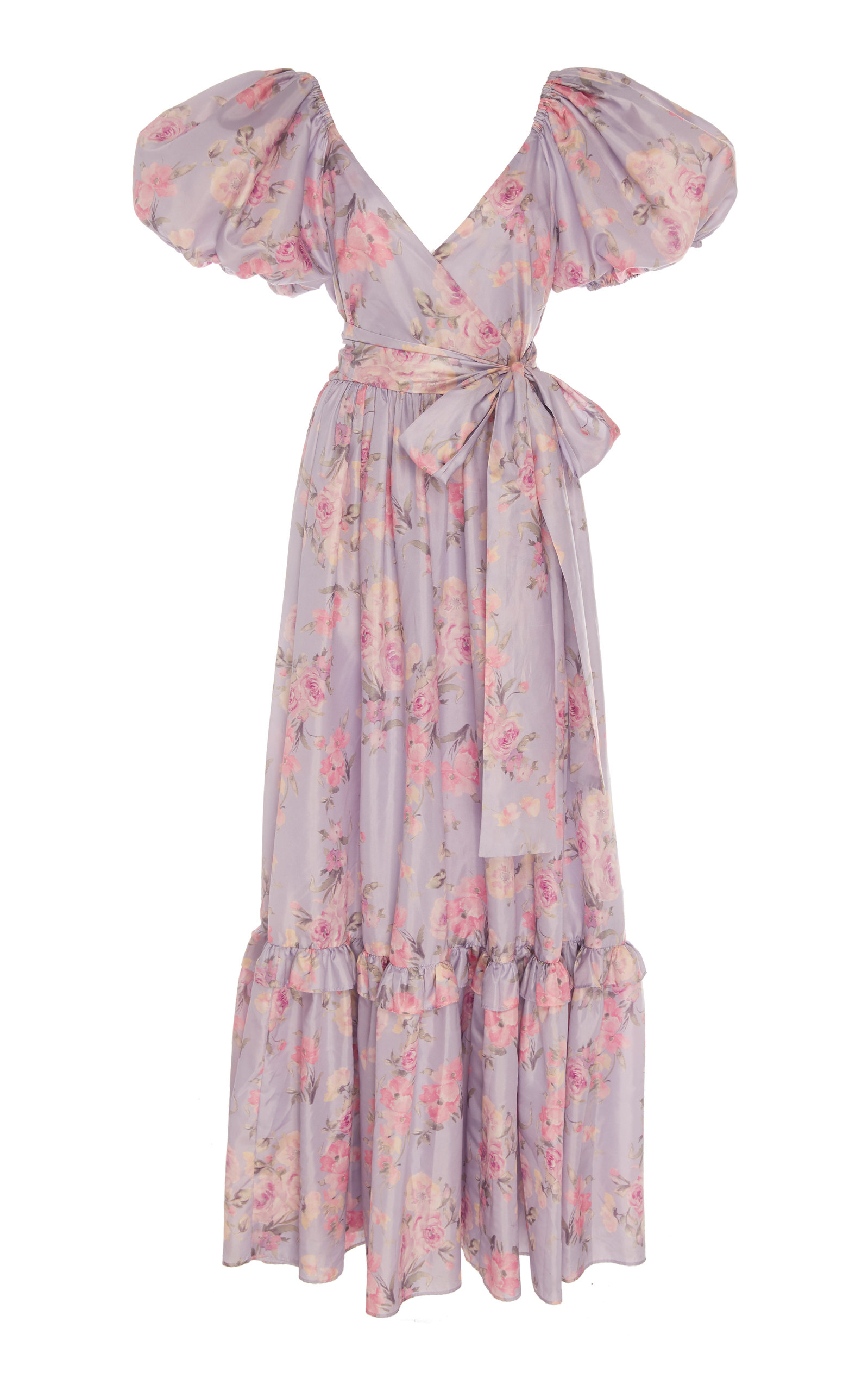 Buy LoveShackFancy Ida Floral Maxi Dress online, shop LoveShackFancy at the best price