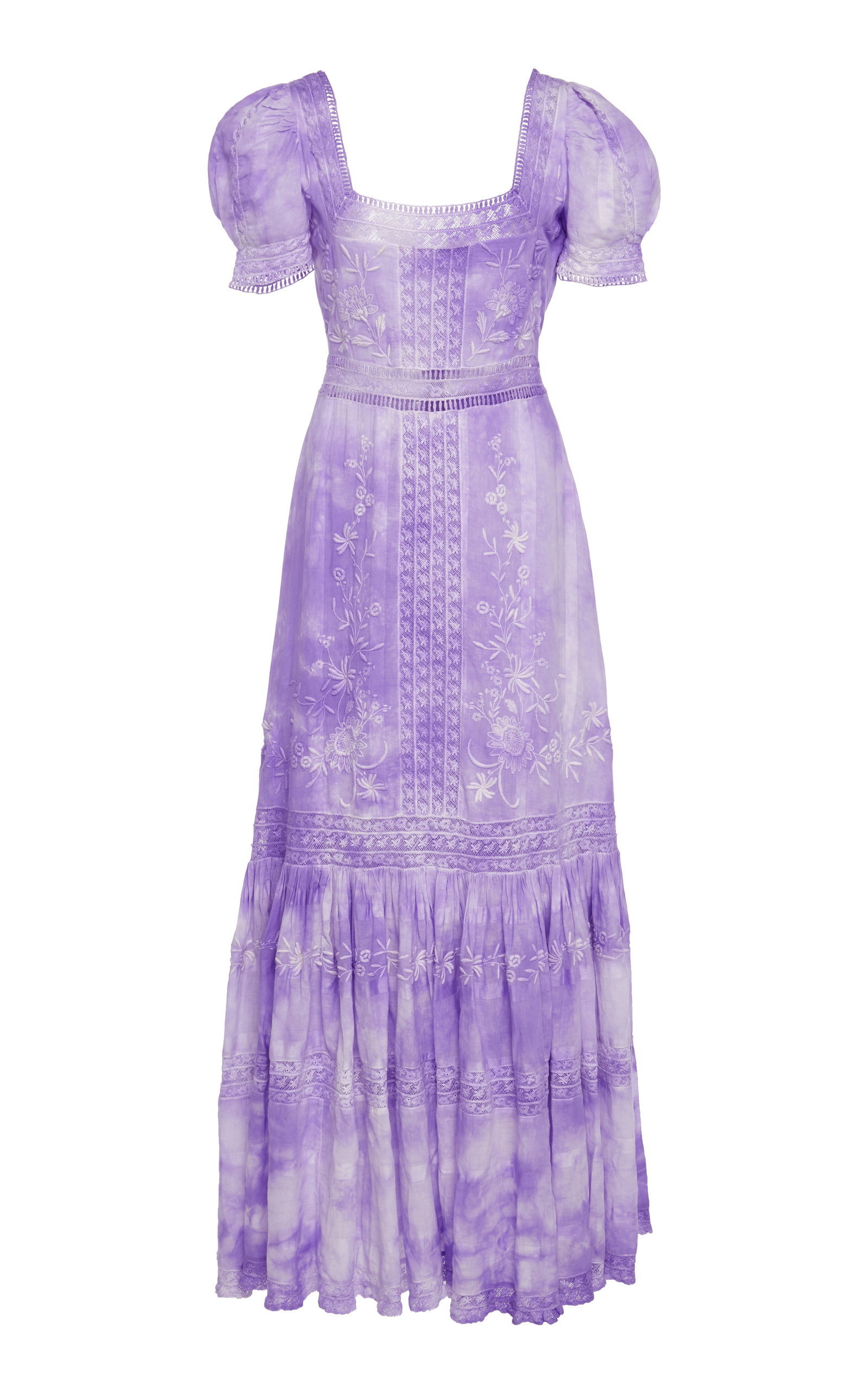 Buy LoveShackFancy Ryan Cloud Cotton Maxi Dress online, shop LoveShackFancy at the best price