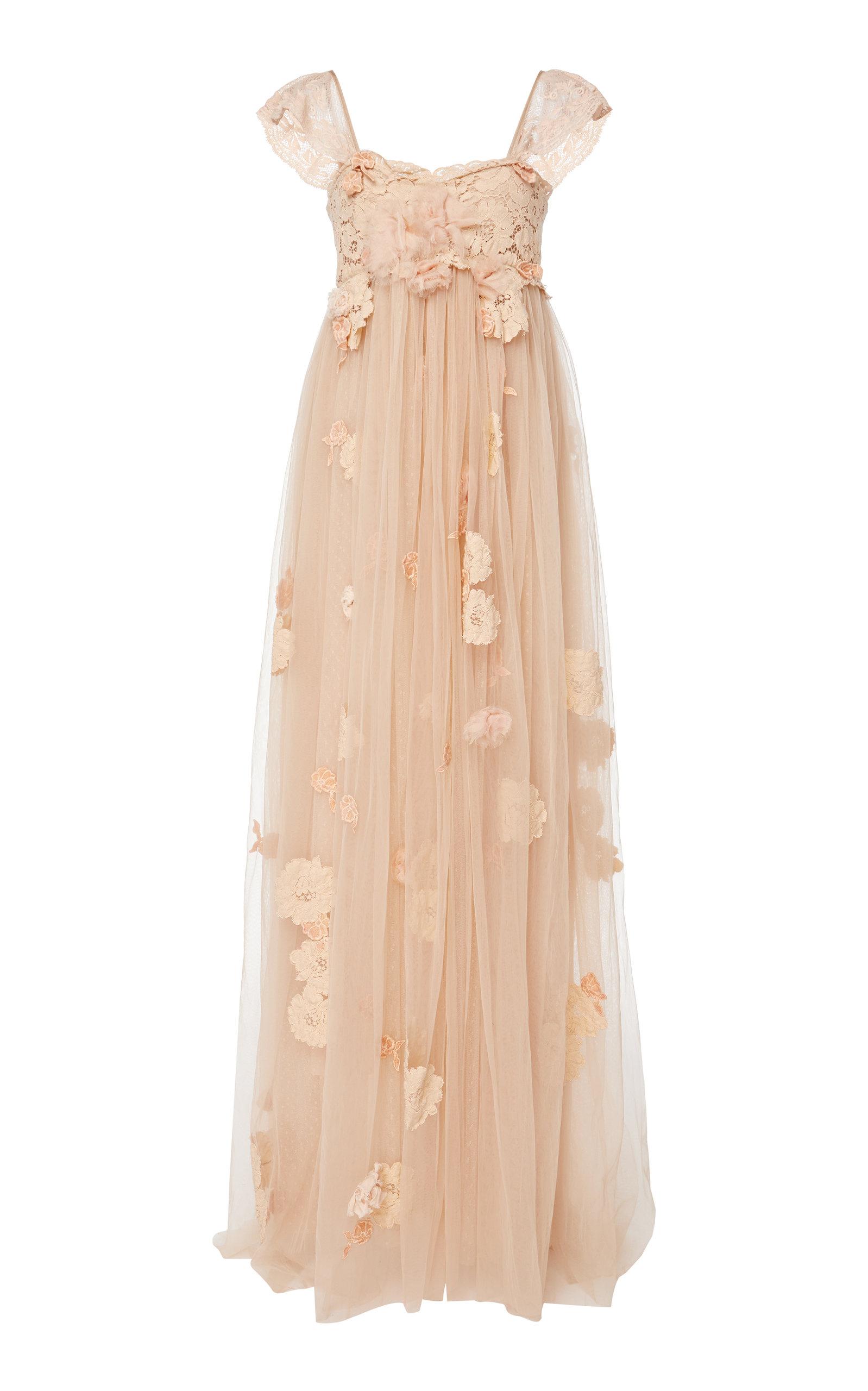 Buy LoveShackFancy Irene Embellished Maxi Dress online, shop LoveShackFancy at the best price