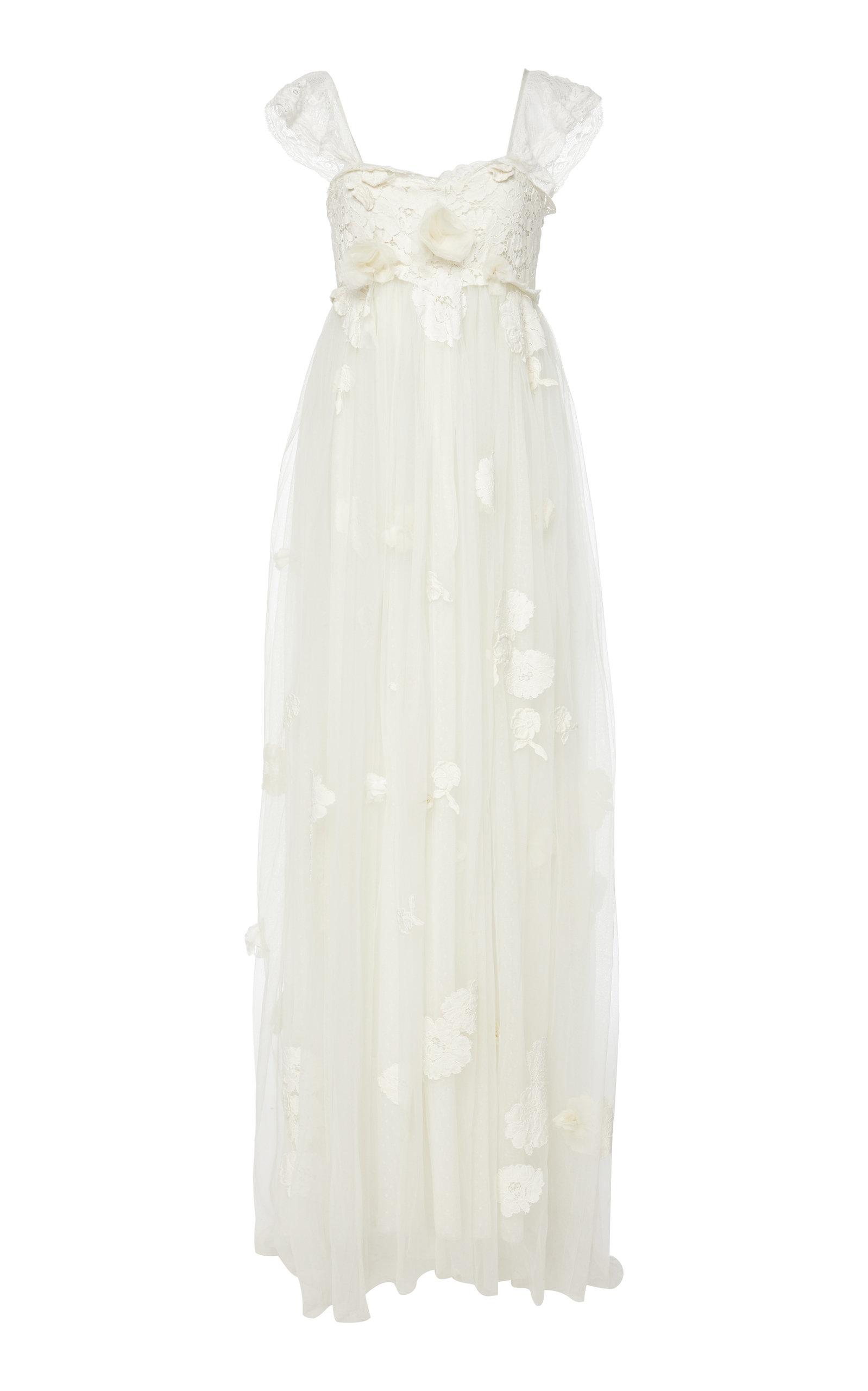 Buy LoveShackFancy Irene Tulle Gown online, shop LoveShackFancy at the best price