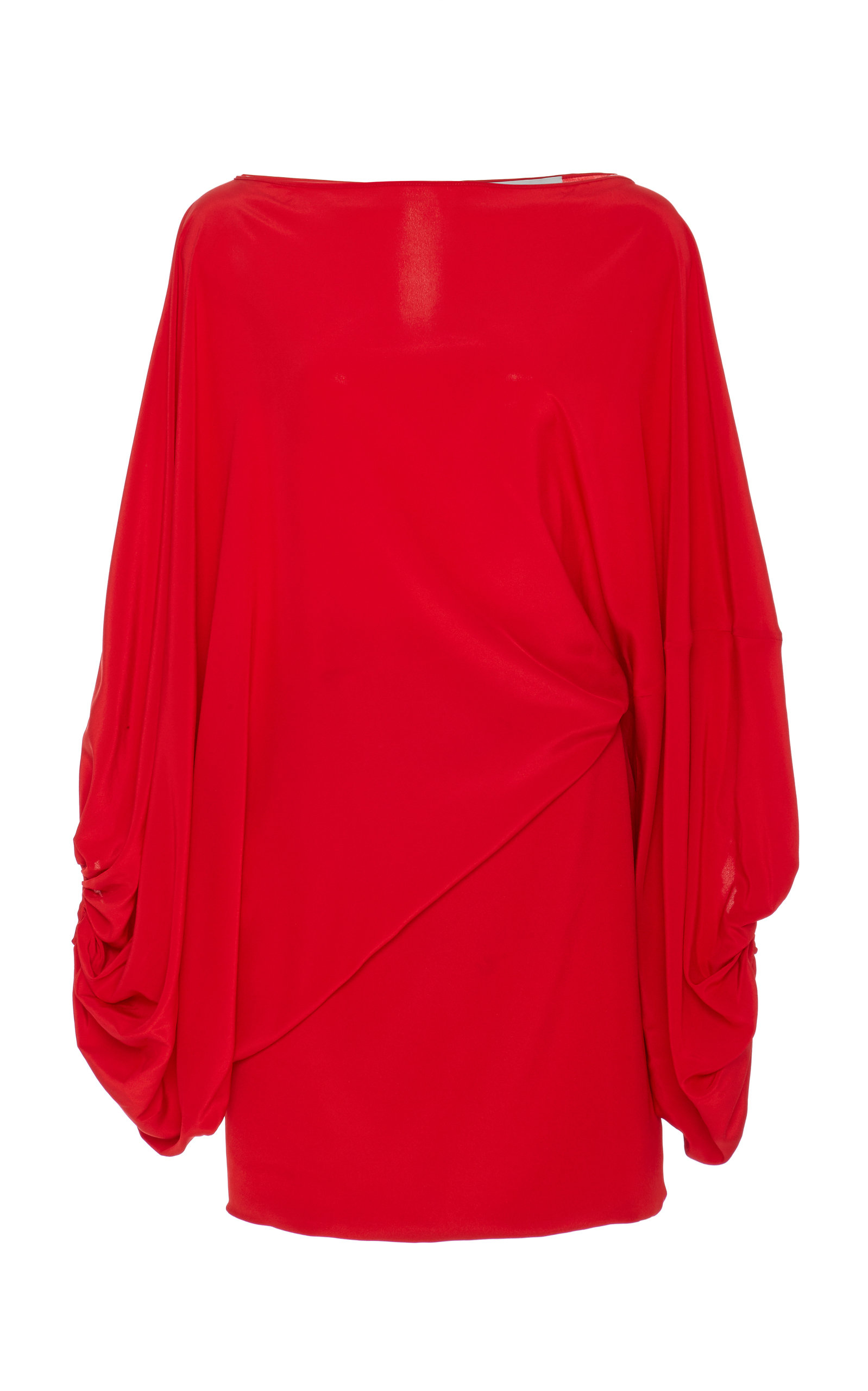 Buy Silvia Tcherassi Ruched Genara Silk Mini Dress online, shop Silvia Tcherassi at the best price