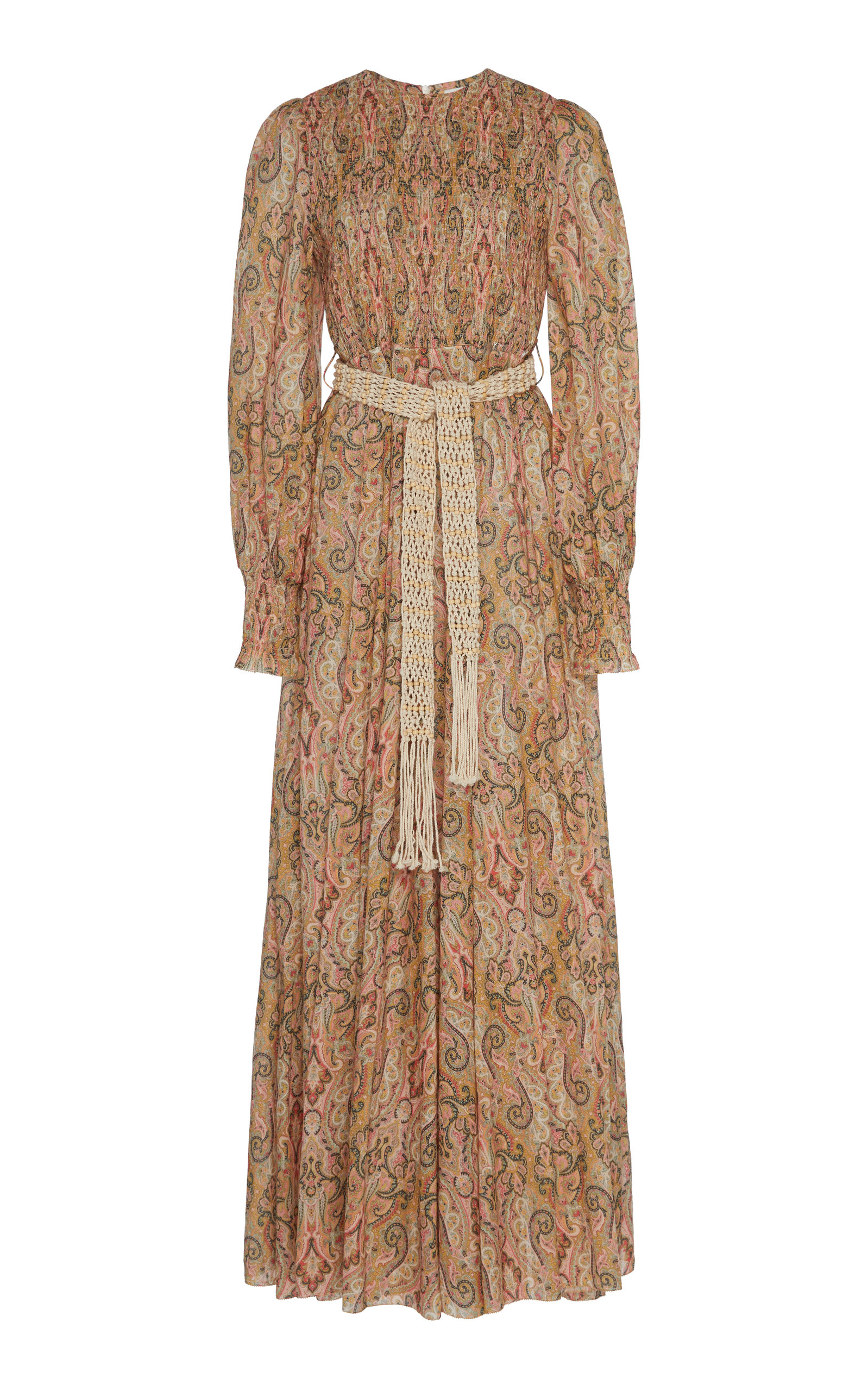 Buy Zimmermann Printed Silk-Chiffon Maxi Dress online, shop Zimmermann at the best price