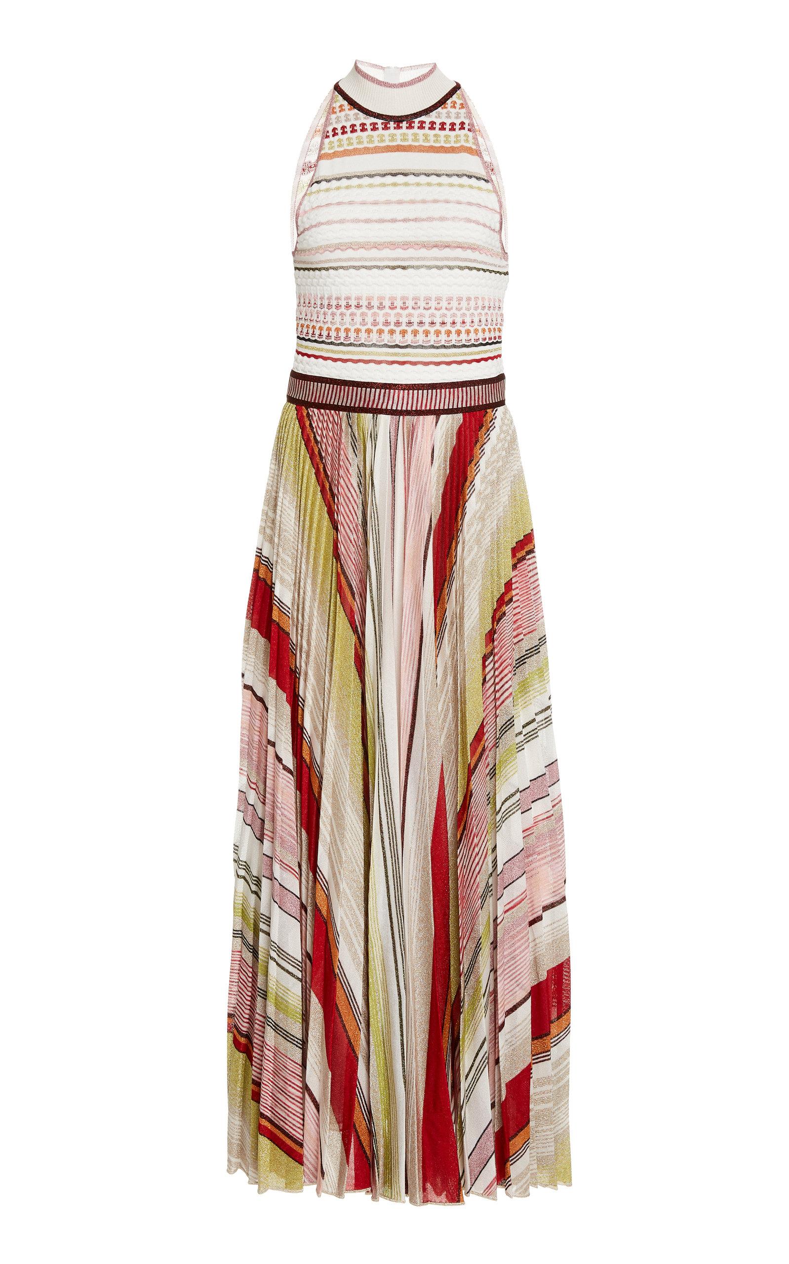 Buy Missoni Sleeveless Crochet-Knit Midi Dress online, shop Missoni at the best price