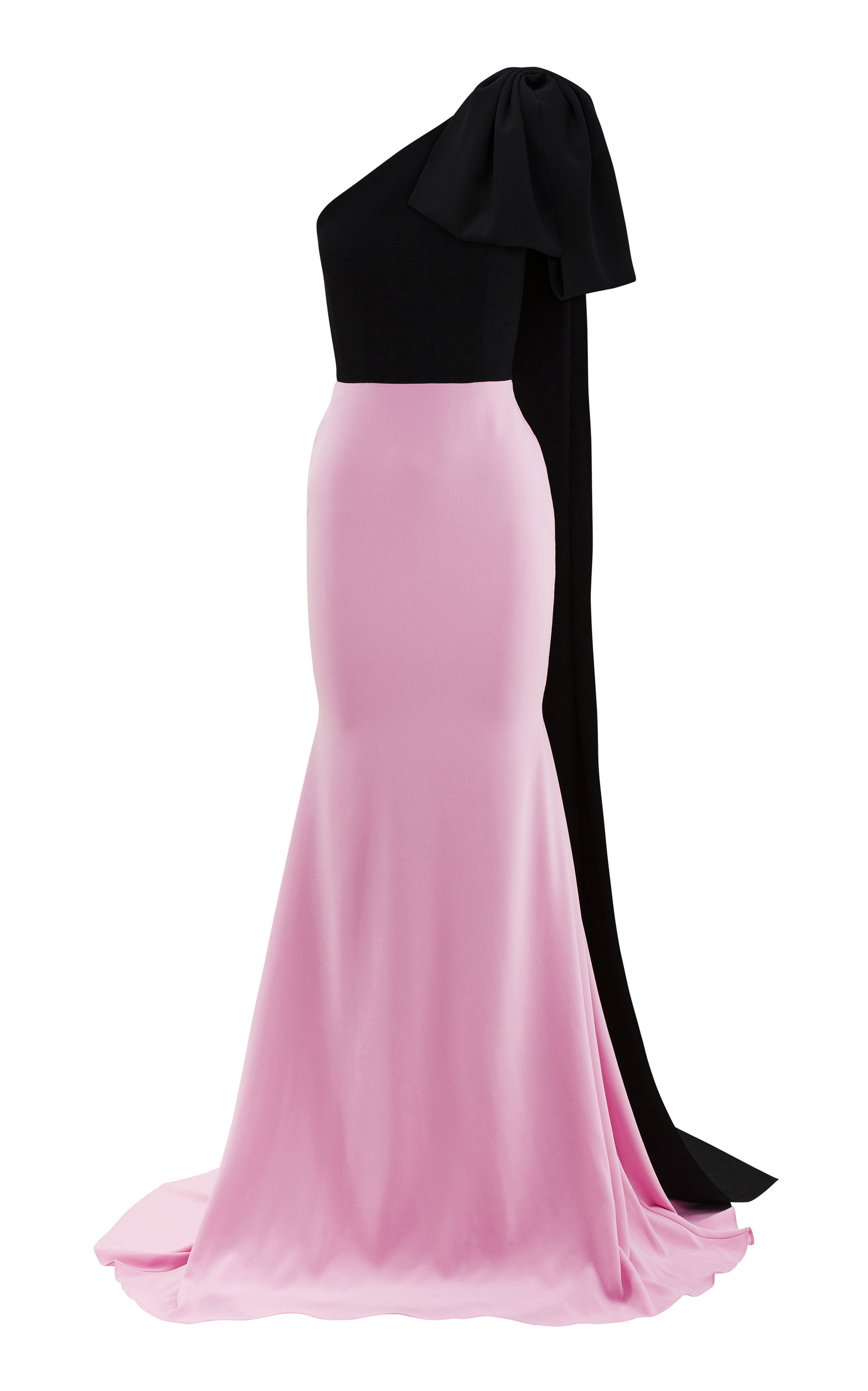 Buy Alex Perry Anderson Two-Tone Crepe Gown online, shop Alex Perry at the best price