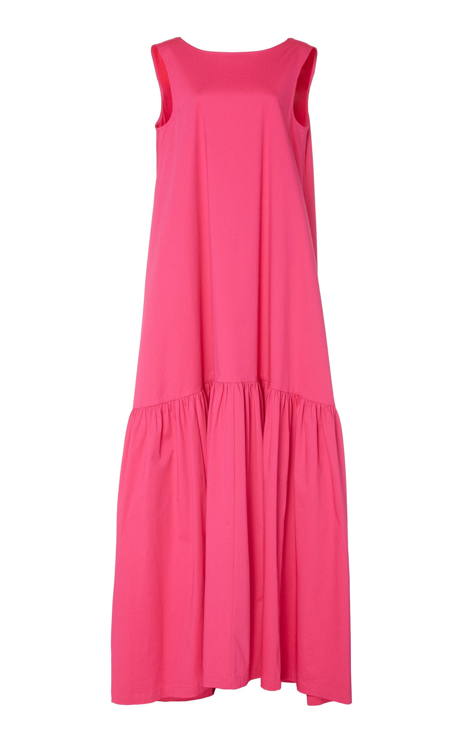 Buy Co Sleeveless Stretch-Cotton Maxi Dress online, shop Co at the best price