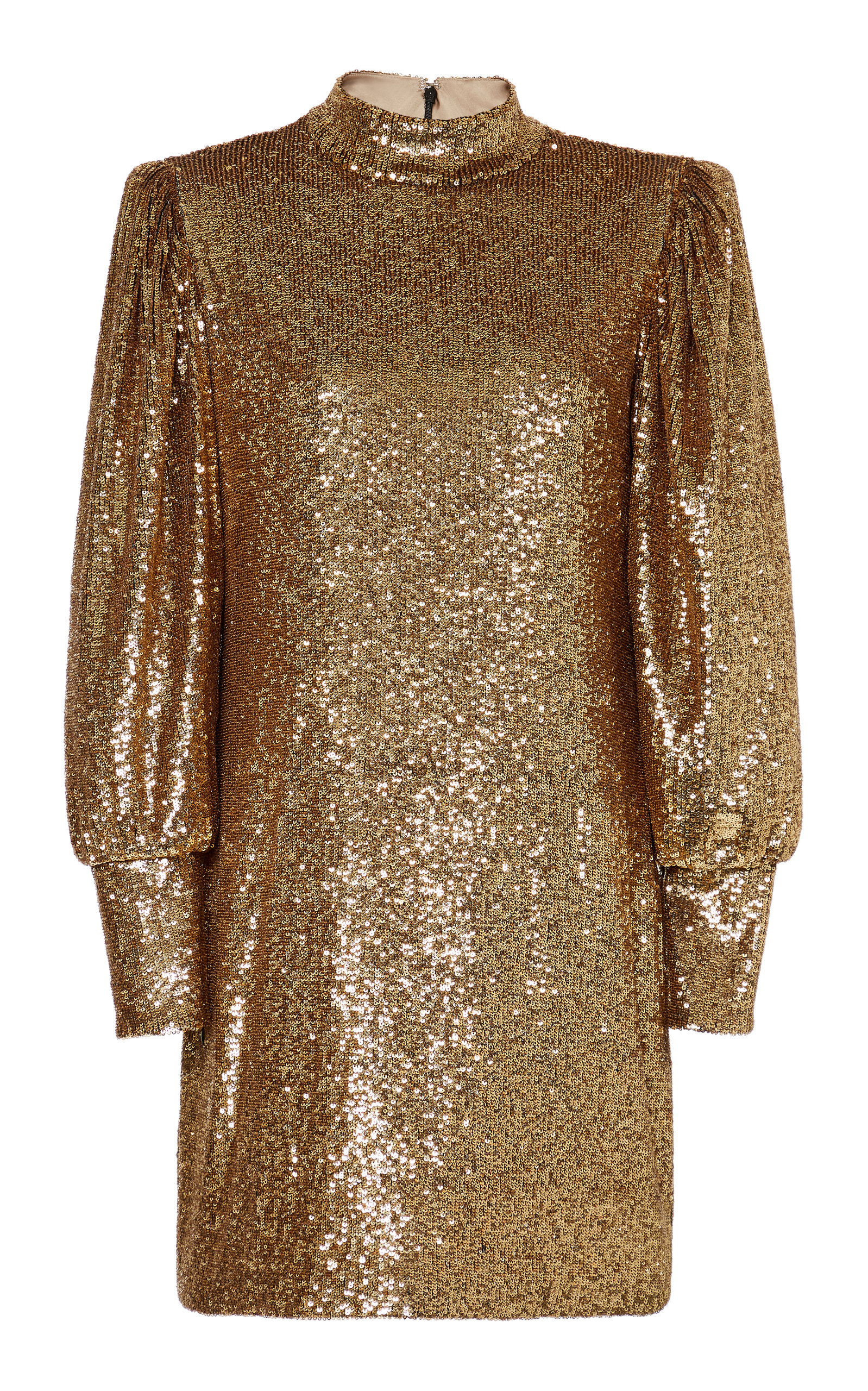 Buy A.L.C. Christy Mock Neck Sequin Mini Dress online, shop A.L.C. at the best price