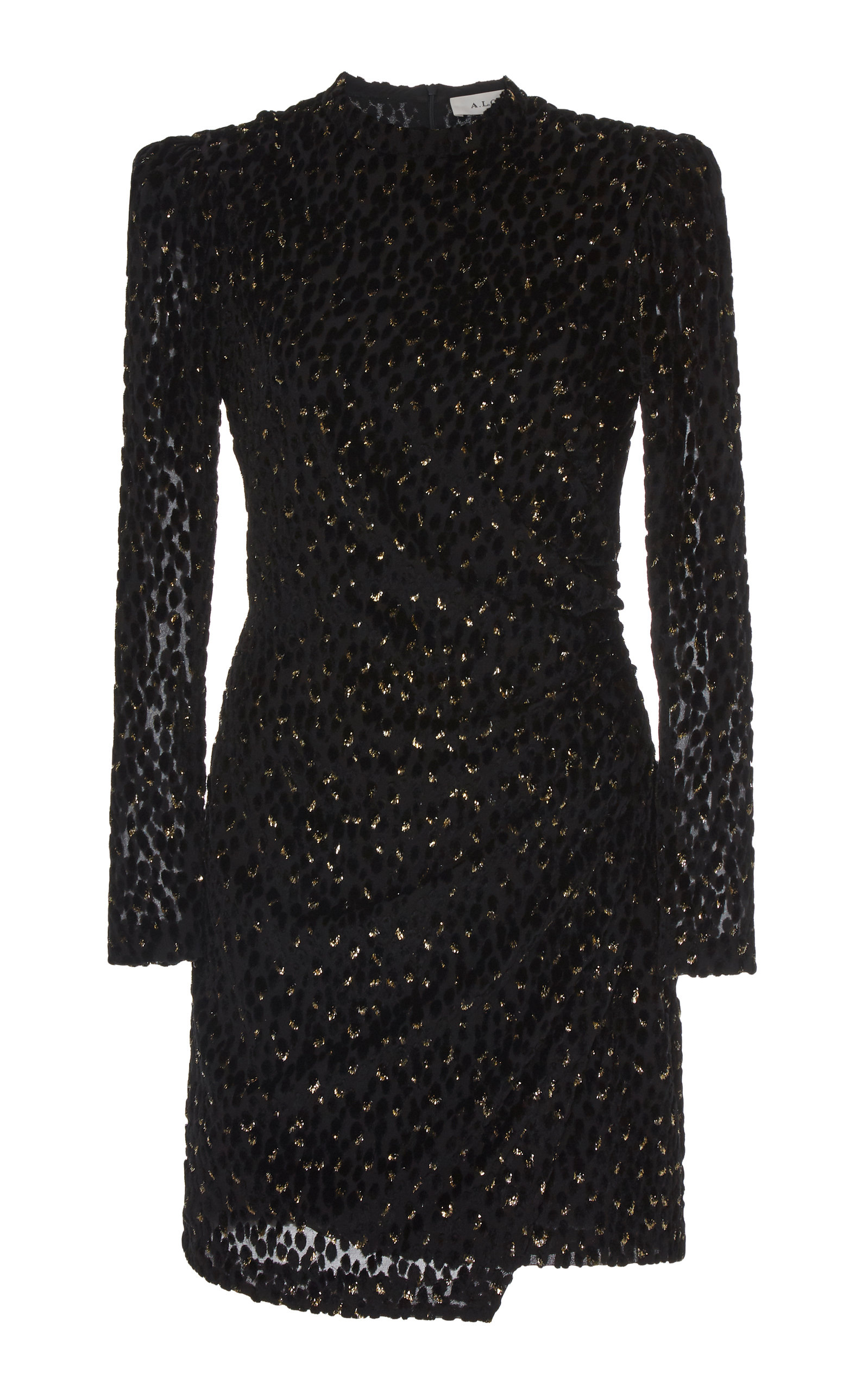 Buy A.L.C. Jane Ruched Velvet Mini Dress online, shop A.L.C. at the best price