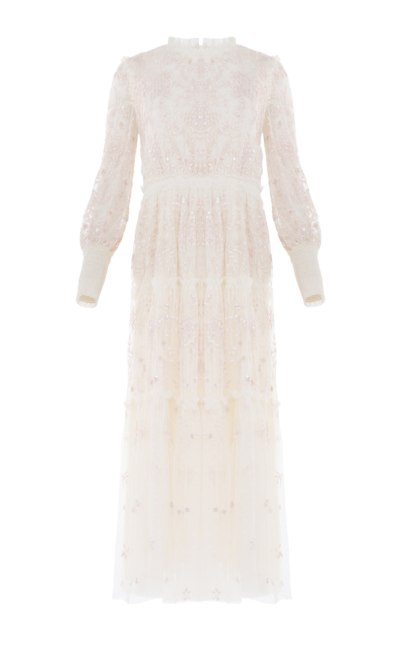 Buy Needle & Thread Whitethorn Embroidered Ballerina Dress online, shop Needle & Thread at the best price