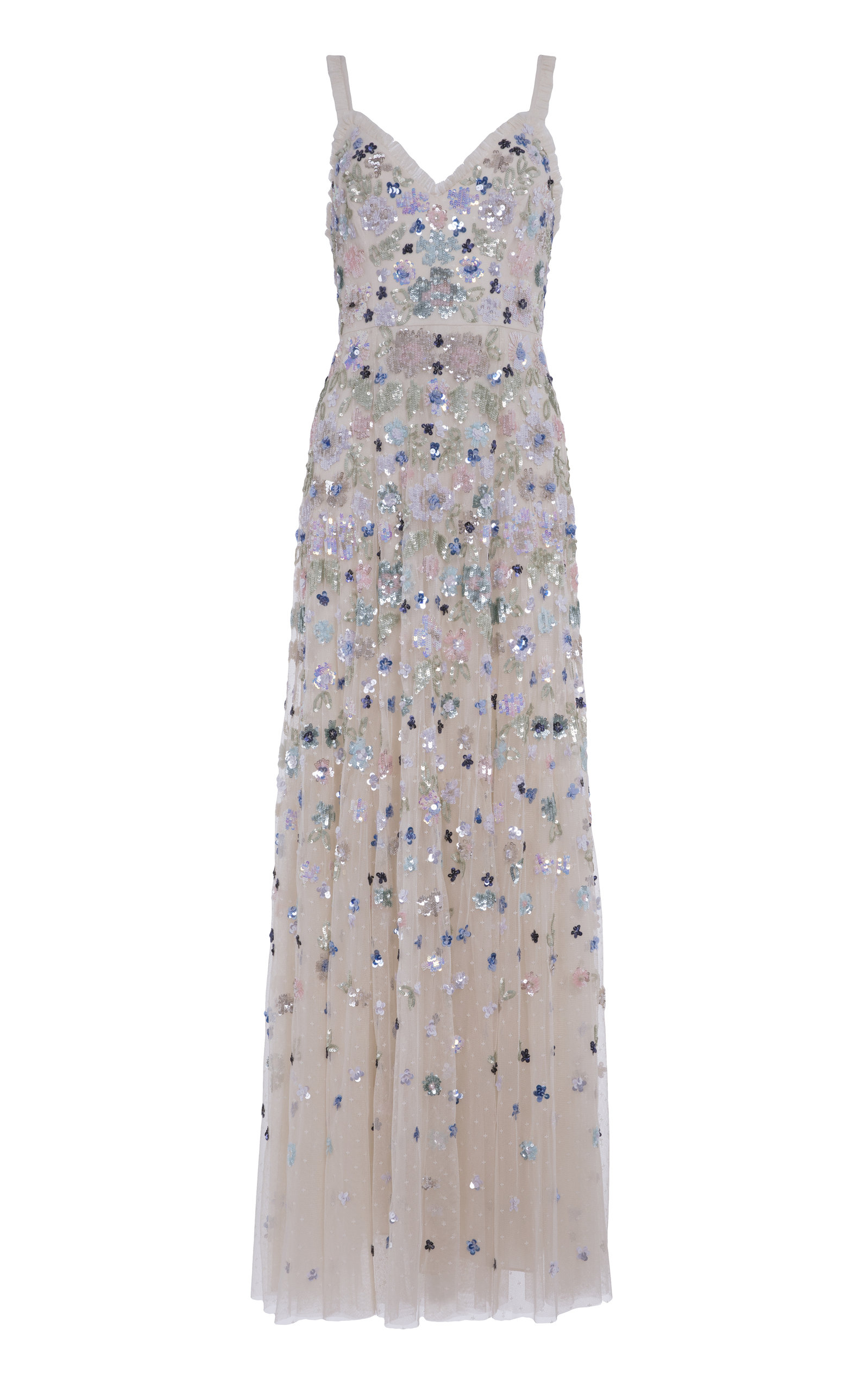 Buy Needle & Thread Wildflower Sequin Maxi Dress online, shop Needle & Thread at the best price