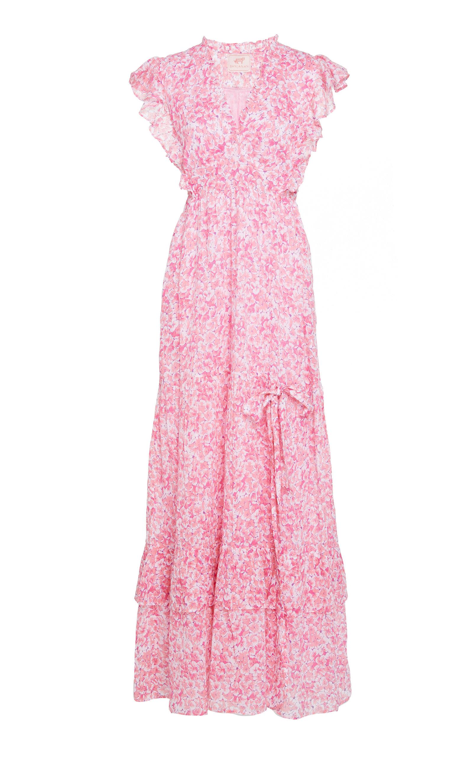 Buy Banjanan Gabriela Floral-Printed Cotton Dress online, shop Banjanan at the best price