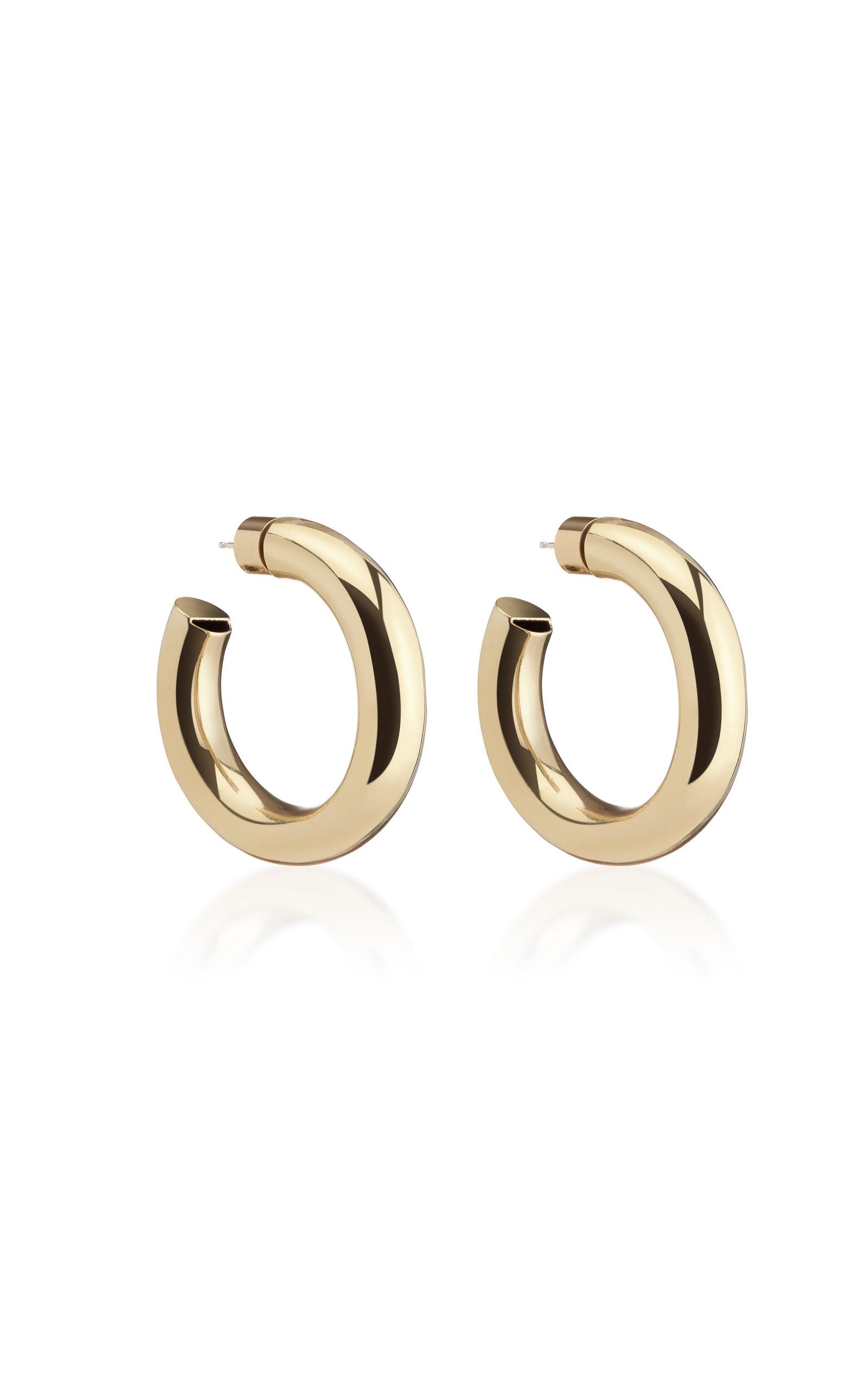Women's Mini Jamma Gold-Plated Hoop Earrings