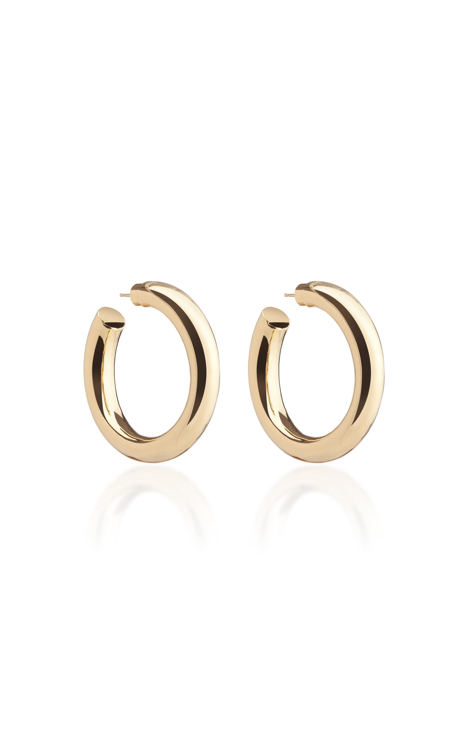 Women's Baby Jamma 14K Gold-Plated Hoop Earrings