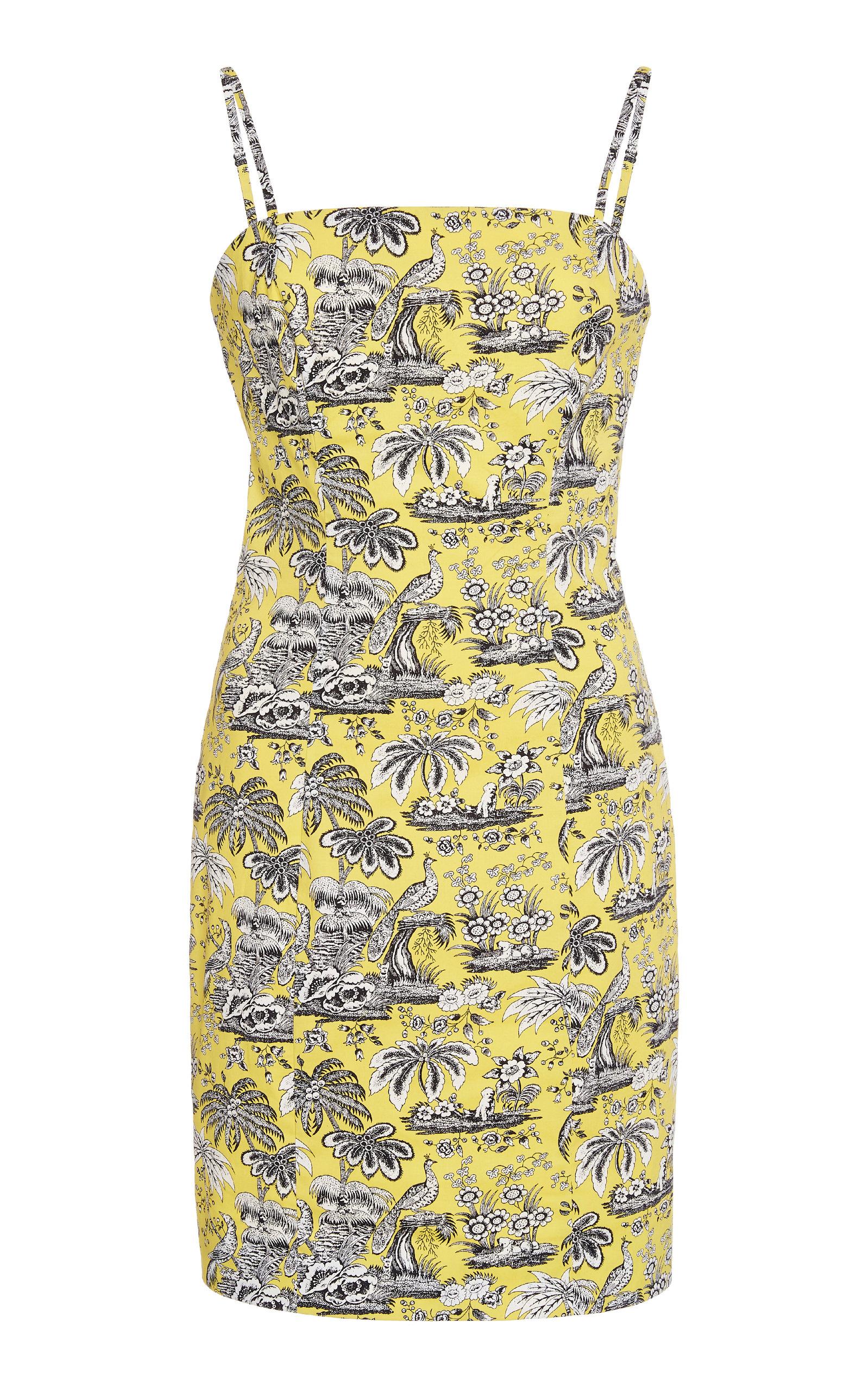 Buy Staud Basset Printed Poplin Dress online, shop Staud at the best price