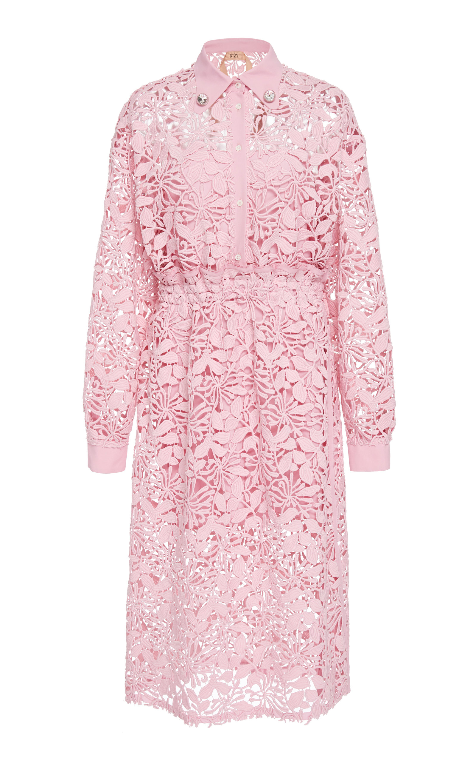 Buy N°21 Lolita Lace Shirtdress online, shop N°21 at the best price