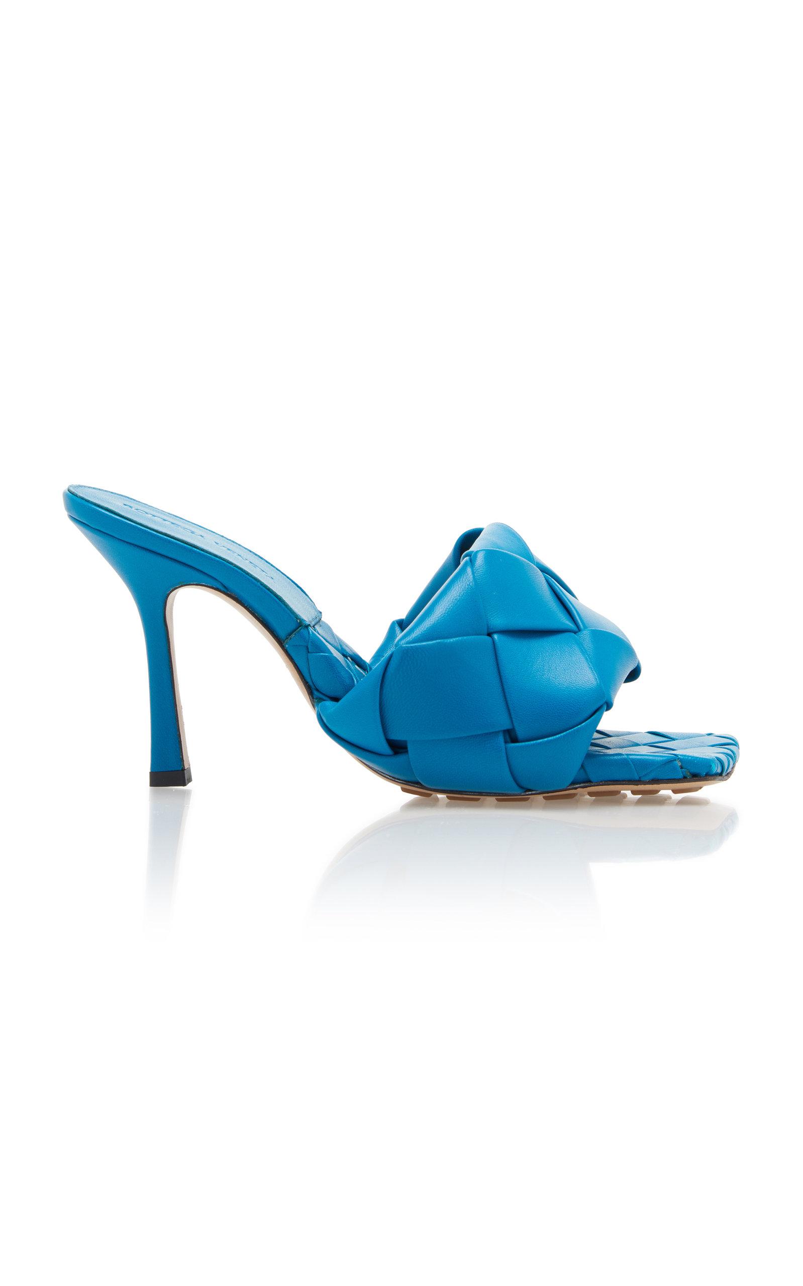 Bottega Veneta – Women's Lido Sandals – Red/blue – Moda Operandi