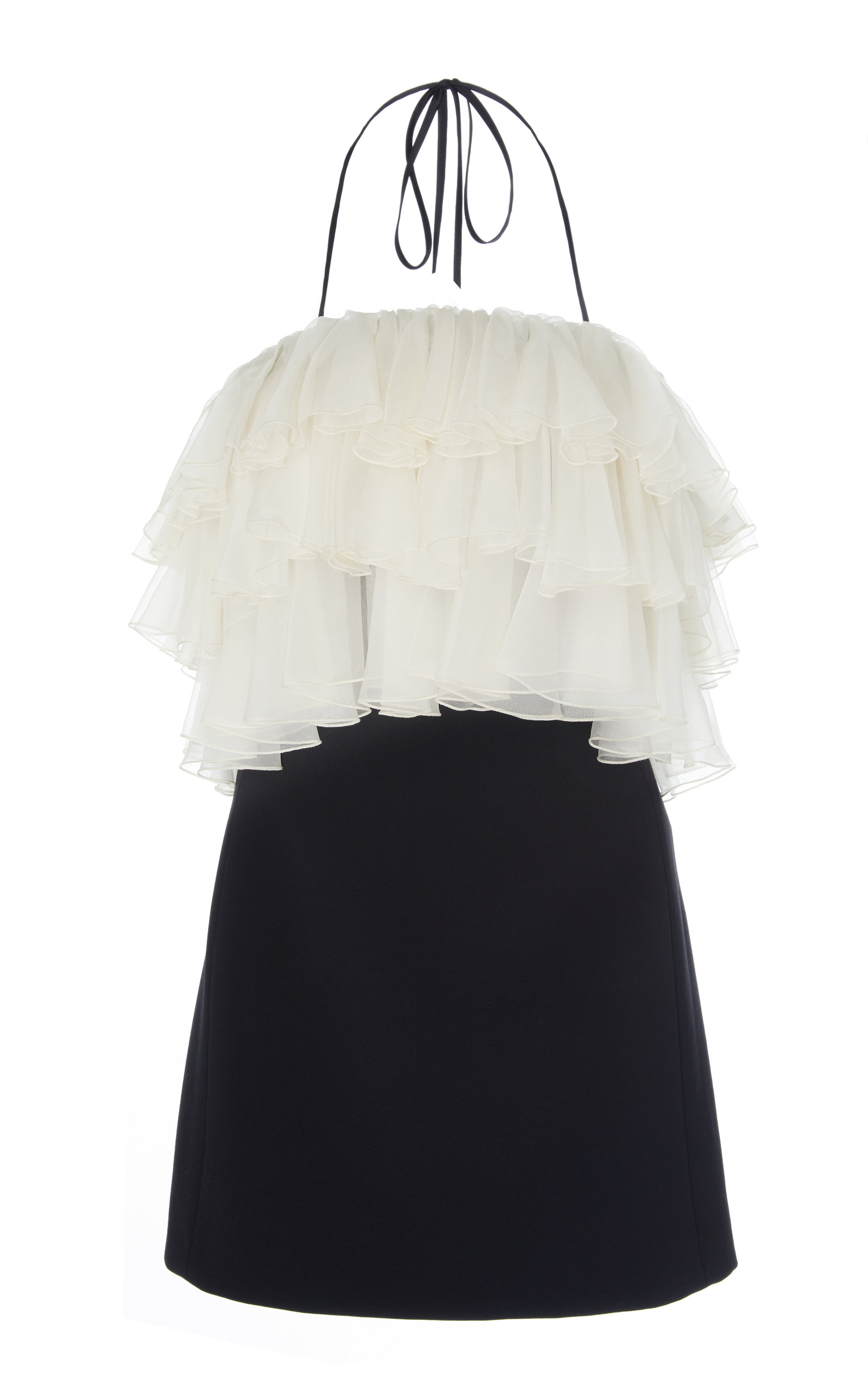Buy Alexis Dolci Tiered Paneled Cady Mini Dress online, shop Alexis at the best price