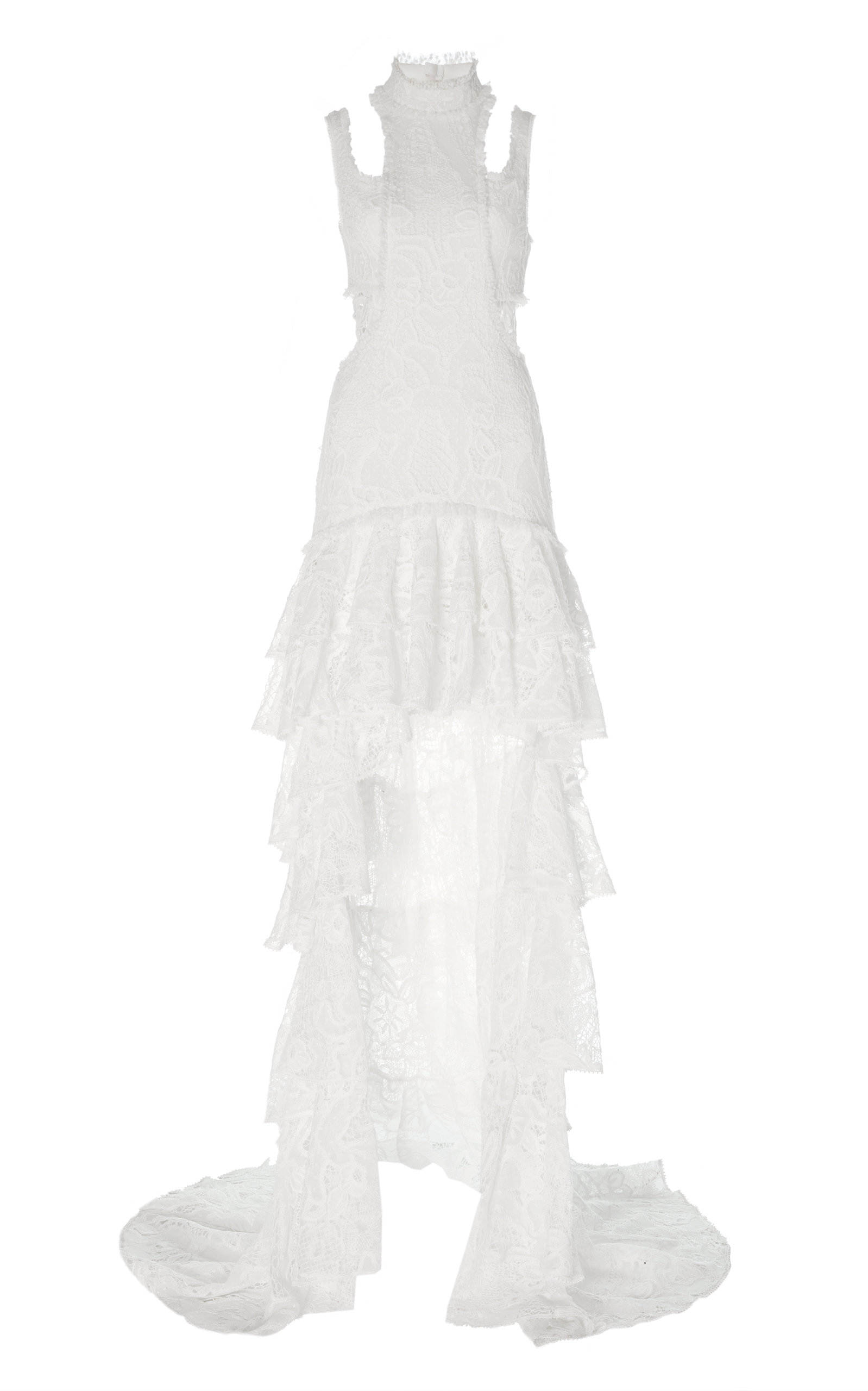 Buy Alexis Varenna Embroidered Asymmetrical Gown online, shop Alexis at the best price