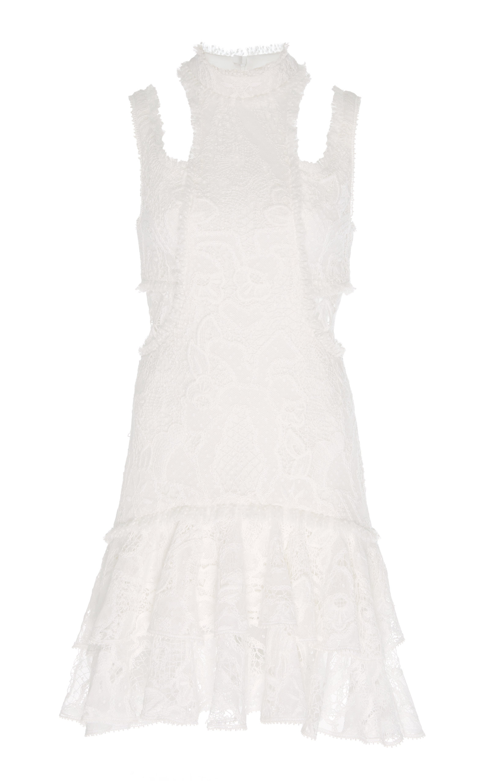 Buy Alexis Kirsi Beaded Lace Mini Dress online, shop Alexis at the best price