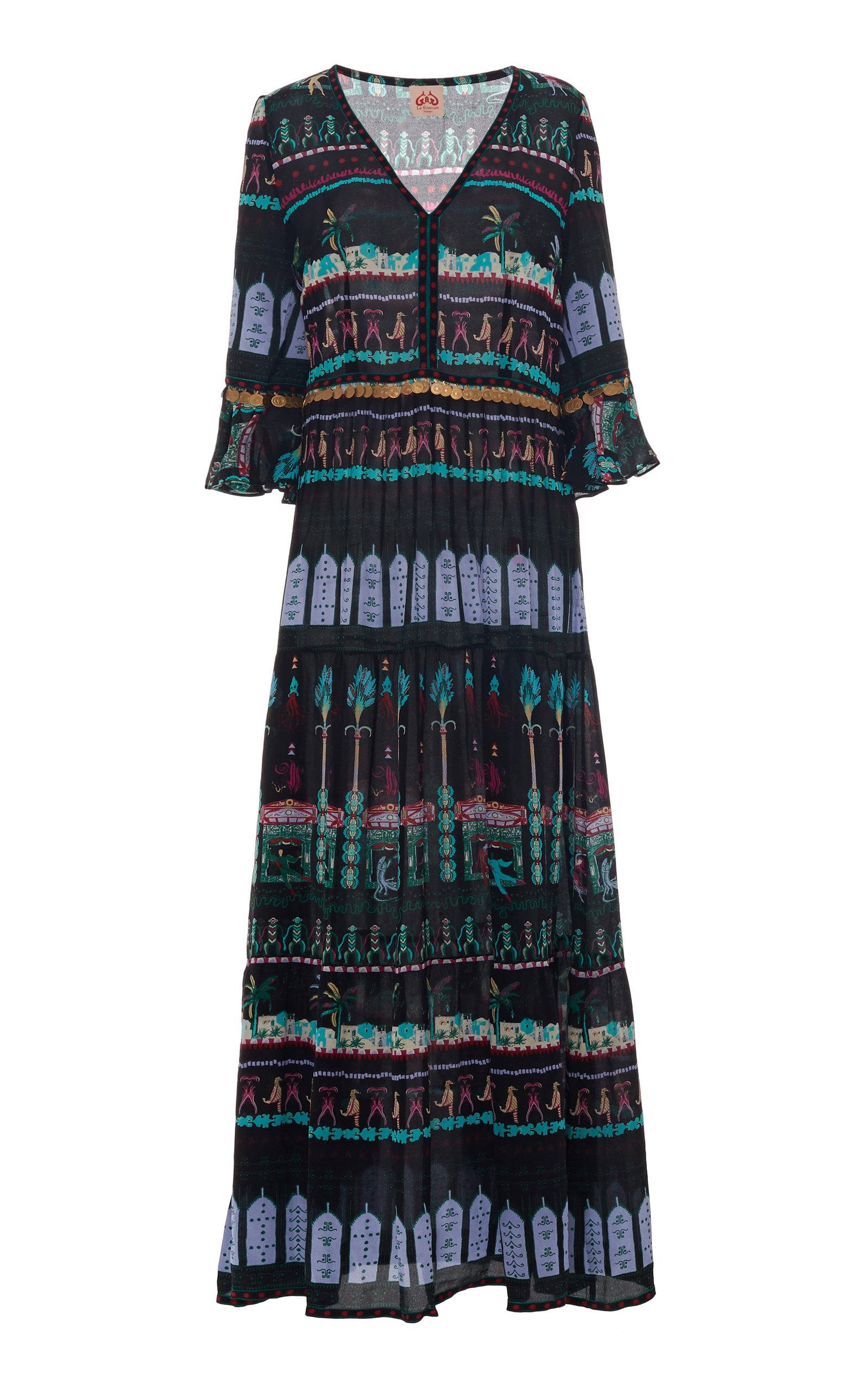 Buy Le Sirenuse Positano Capri Proscenium Bella Dress online, shop Le Sirenuse Positano at the best price