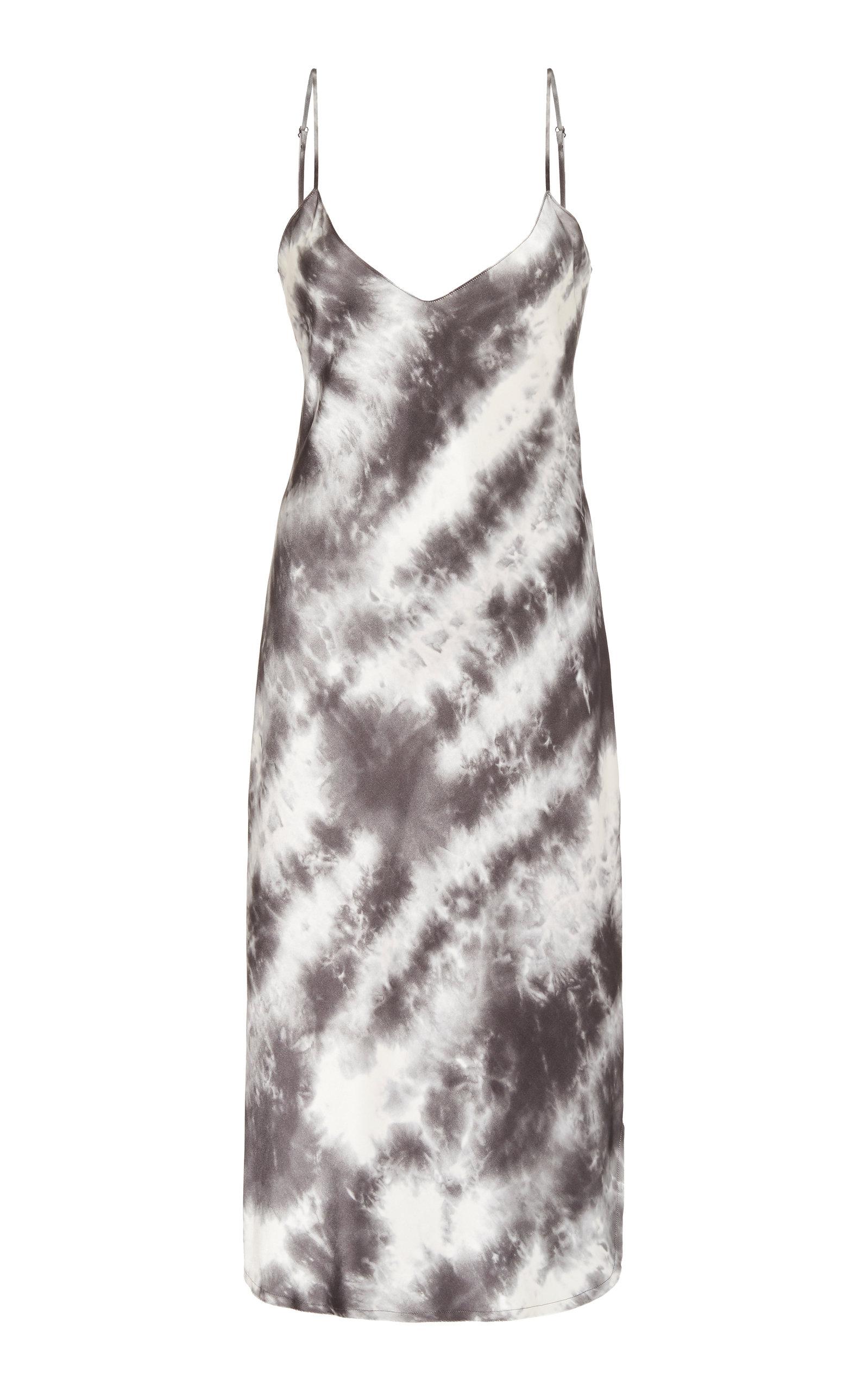 Buy NILI LOTAN Tie-Dyed Silk Dress online, shop NILI LOTAN at the best price