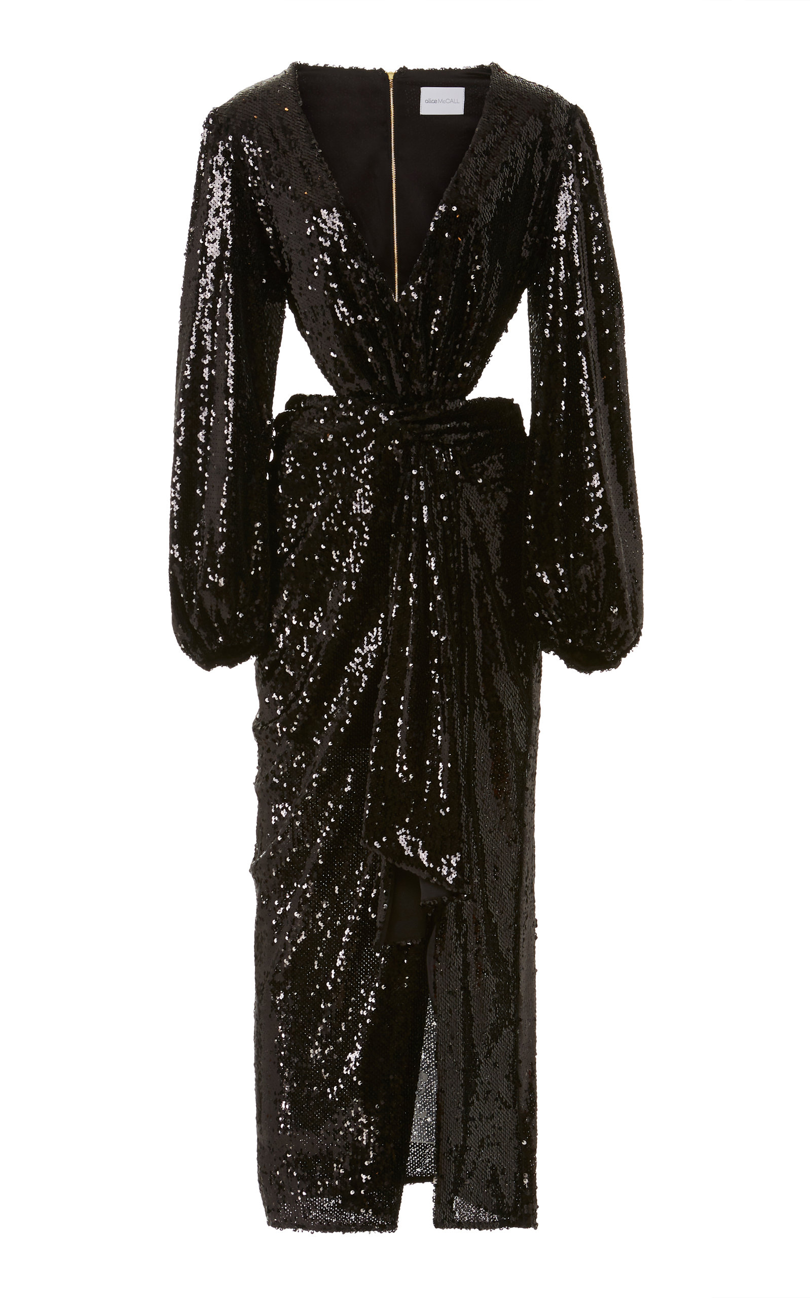 Buy Alice McCall Electric Orchid Sequined-Chiffon Gown online, shop Alice McCall at the best price