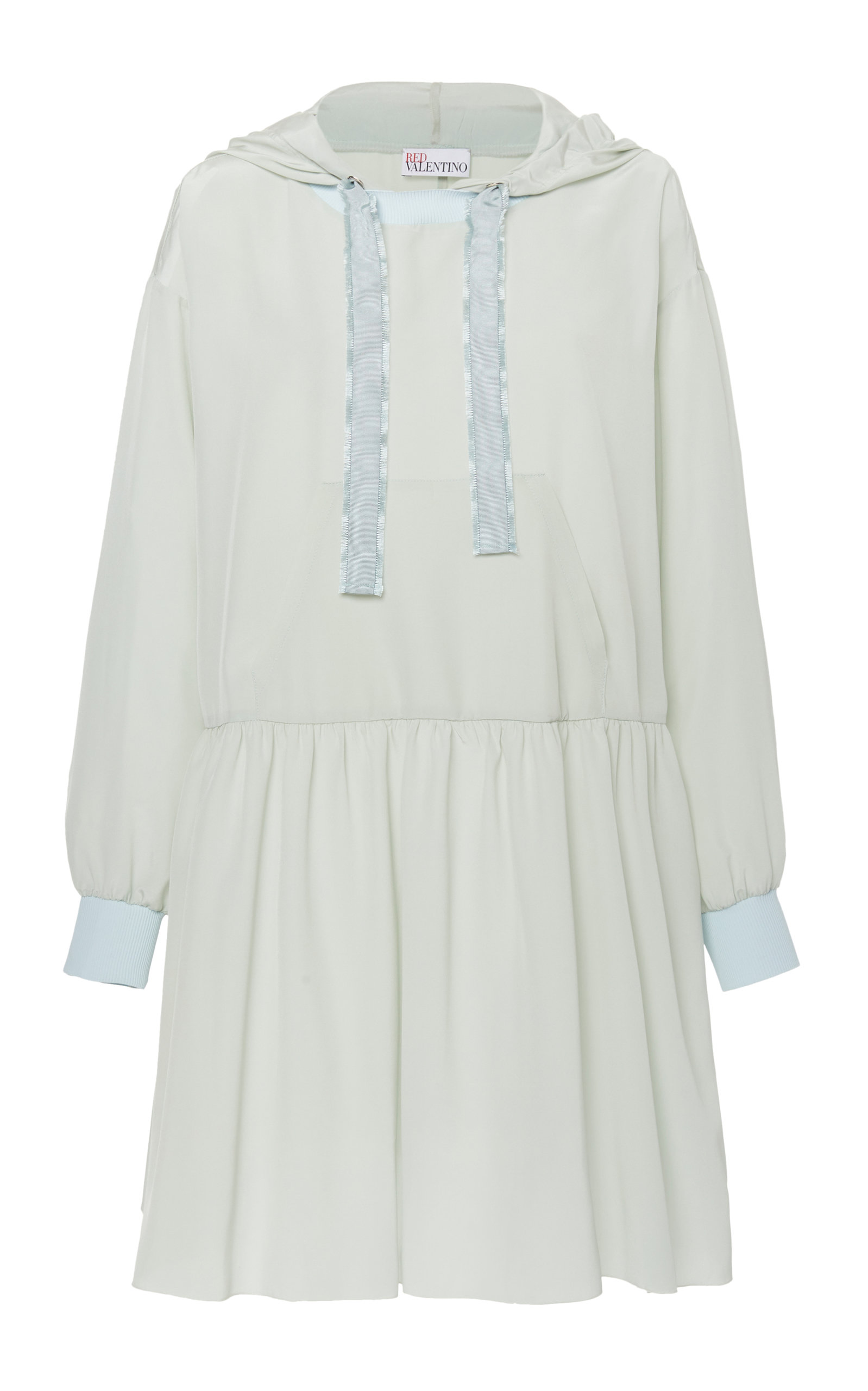 Buy Red Valentino Hoodie Mini Dress online, shop Red Valentino at the best price