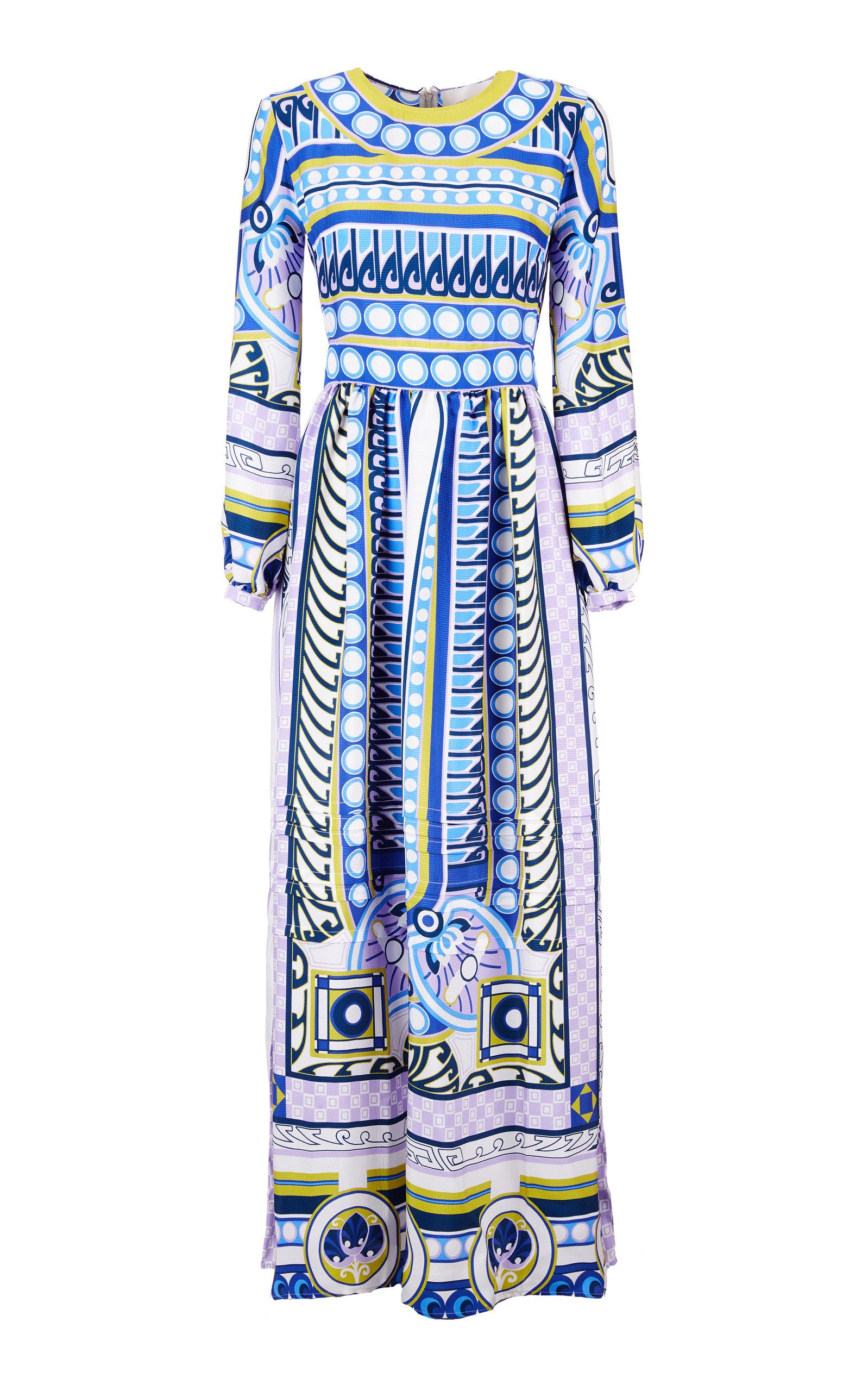 Buy La DoubleJ Pemberley Printed Satin Maxi Dress online, shop La DoubleJ at the best price
