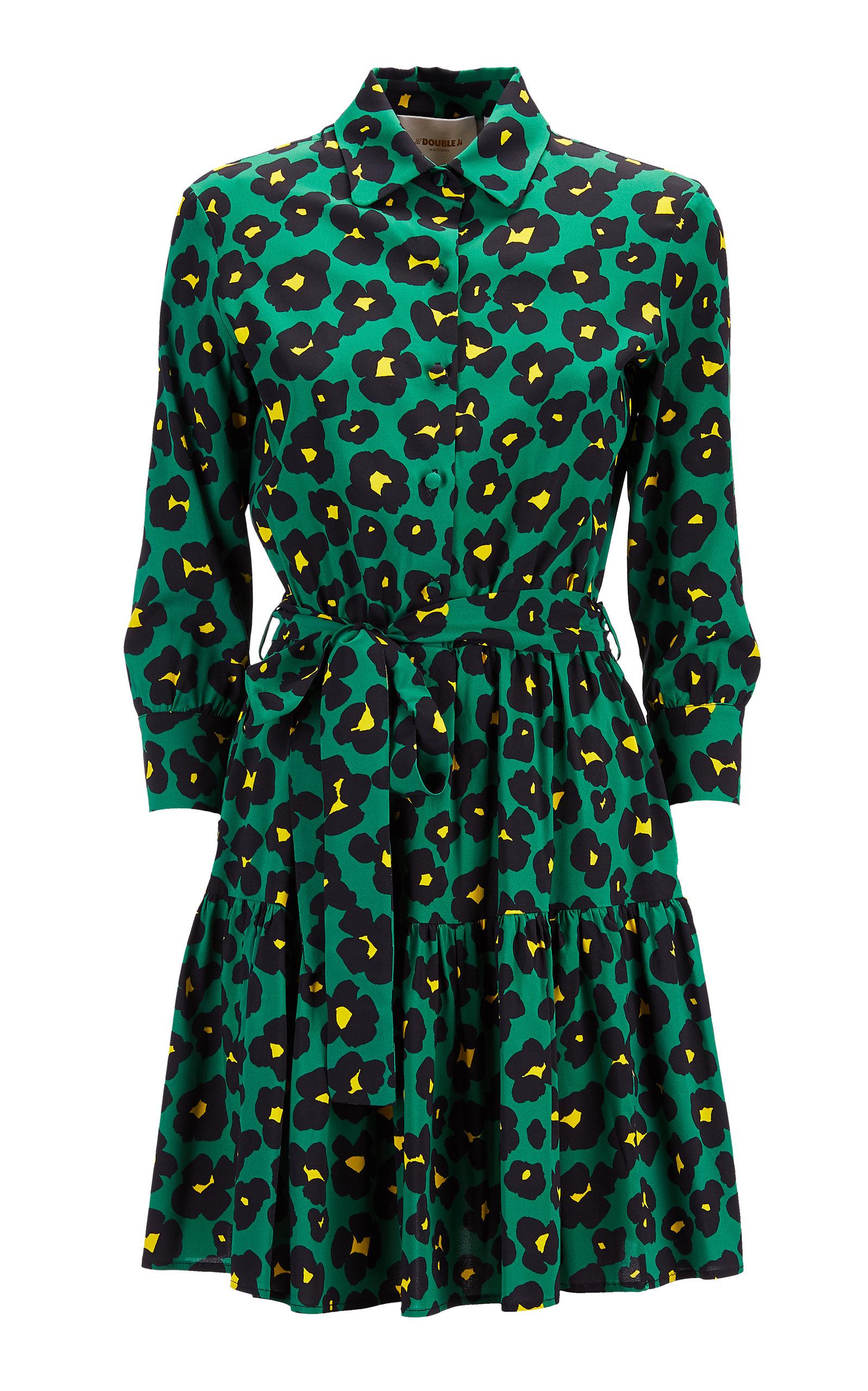 Buy La DoubleJ Bellini Printed Satin Mini Dress online, shop La DoubleJ at the best price
