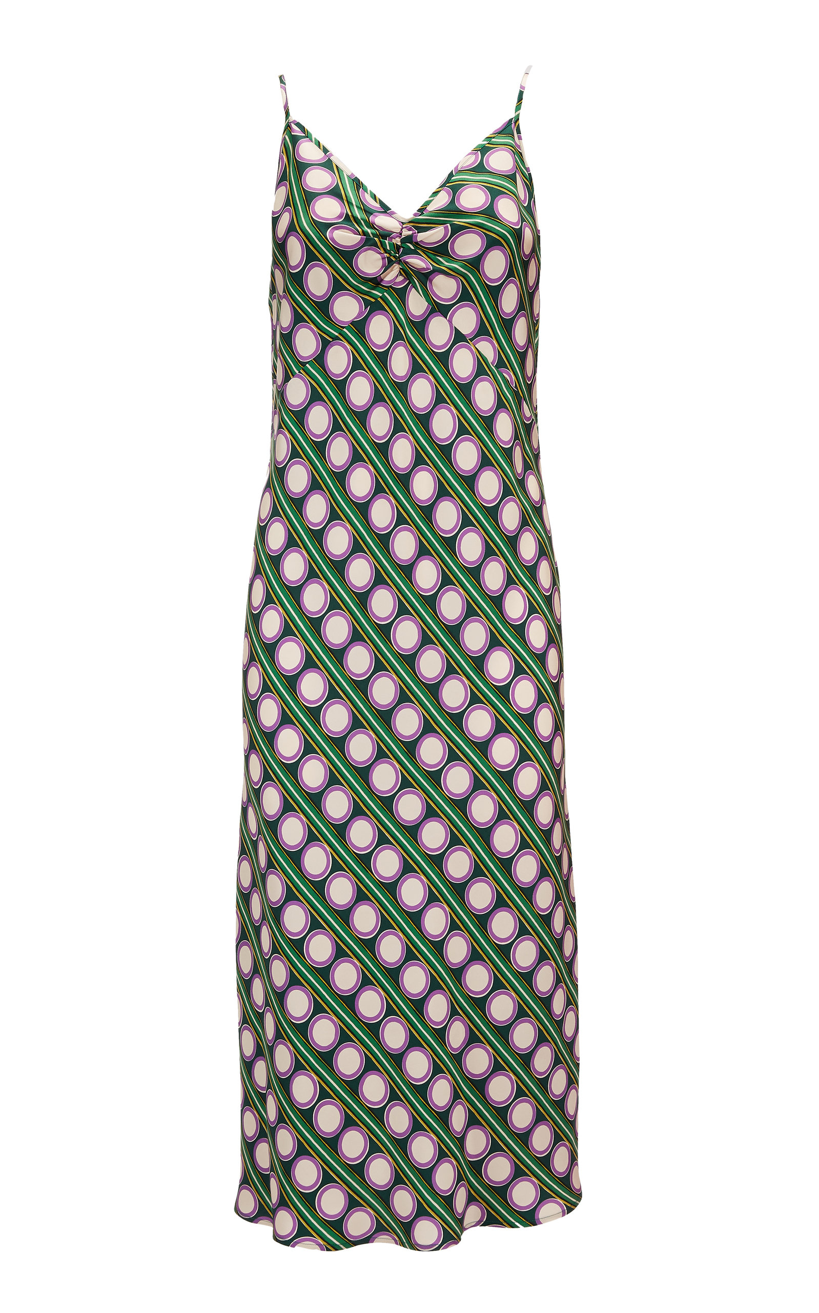 Buy La DoubleJ Printed Silk Slip Dress online, shop La DoubleJ at the best price