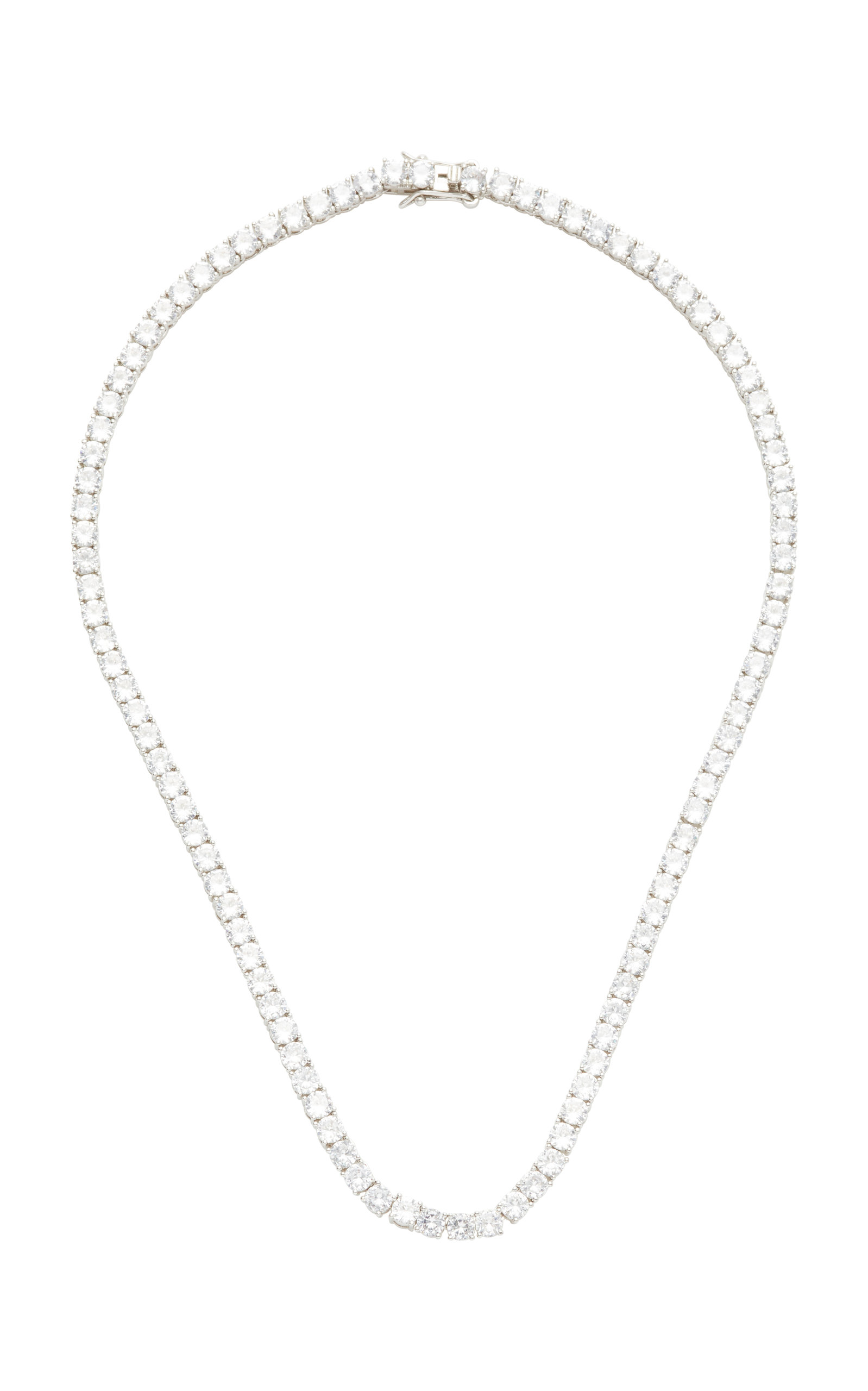 Women's Gold-Tone And Crystal Necklace