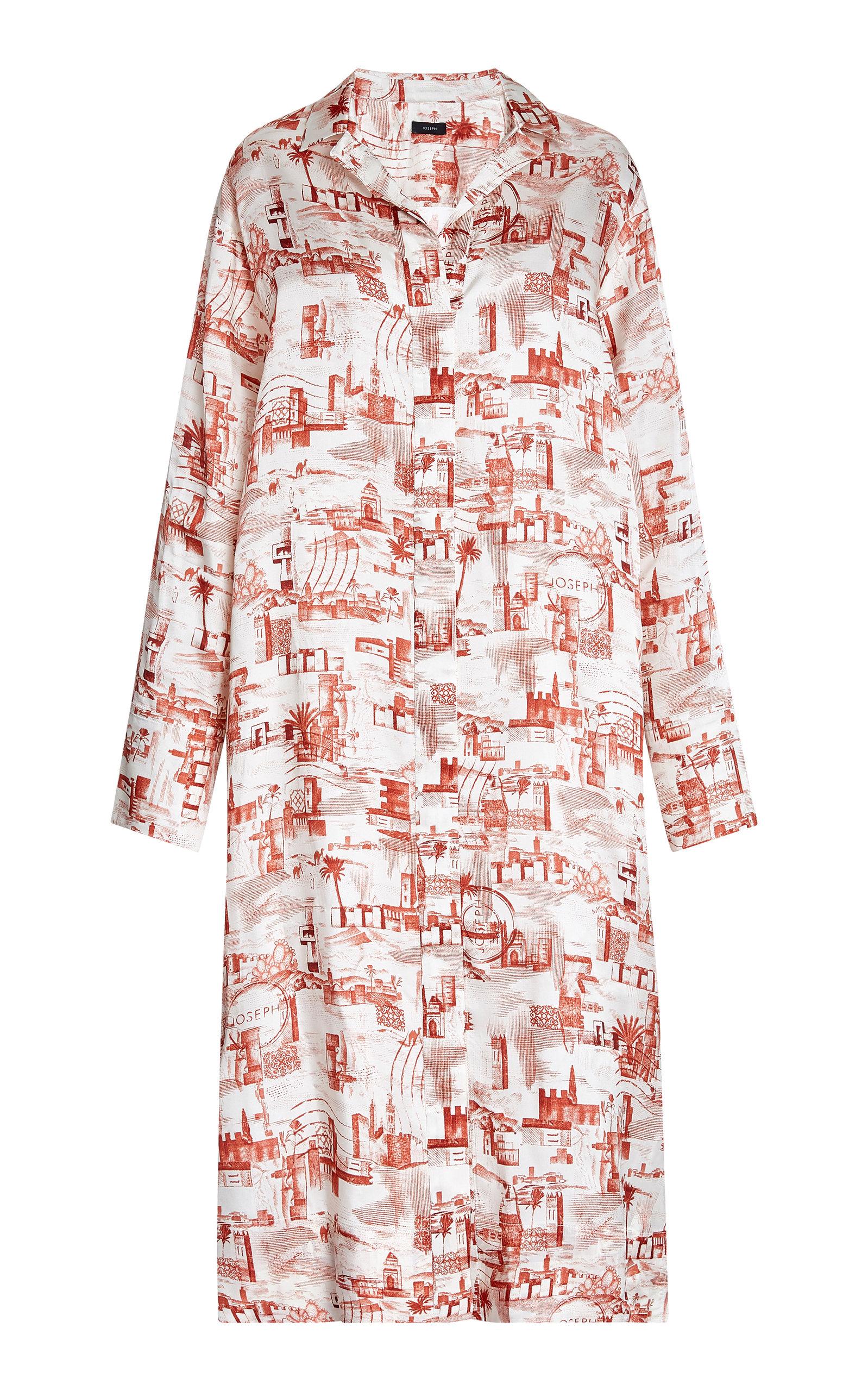 Buy Joseph Gaya Stamp-Print Shirt Dress online, shop Joseph at the best price