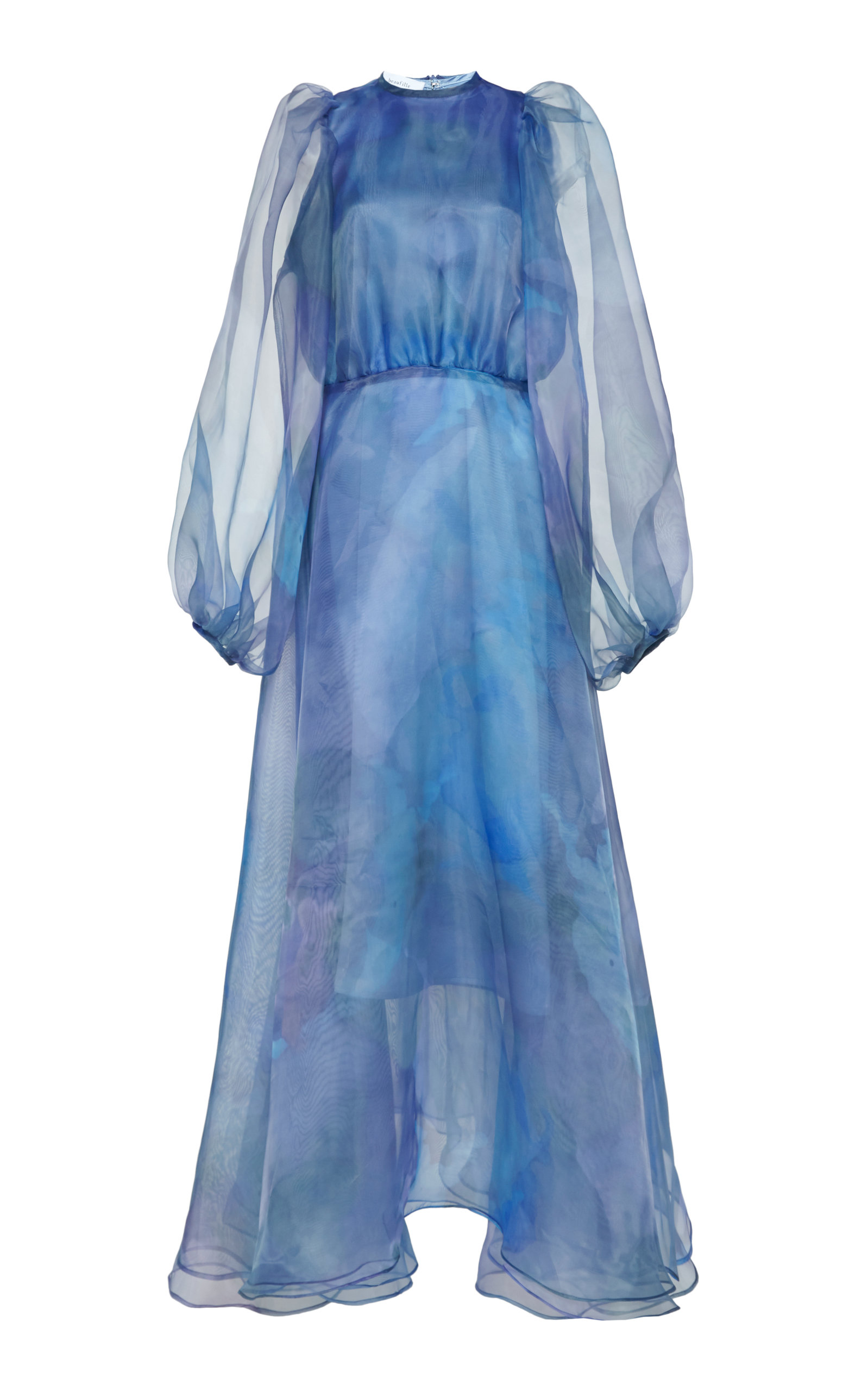 Buy Beaufille Cézanne Cloud Tulle Midi Dress online, shop Beaufille at the best price
