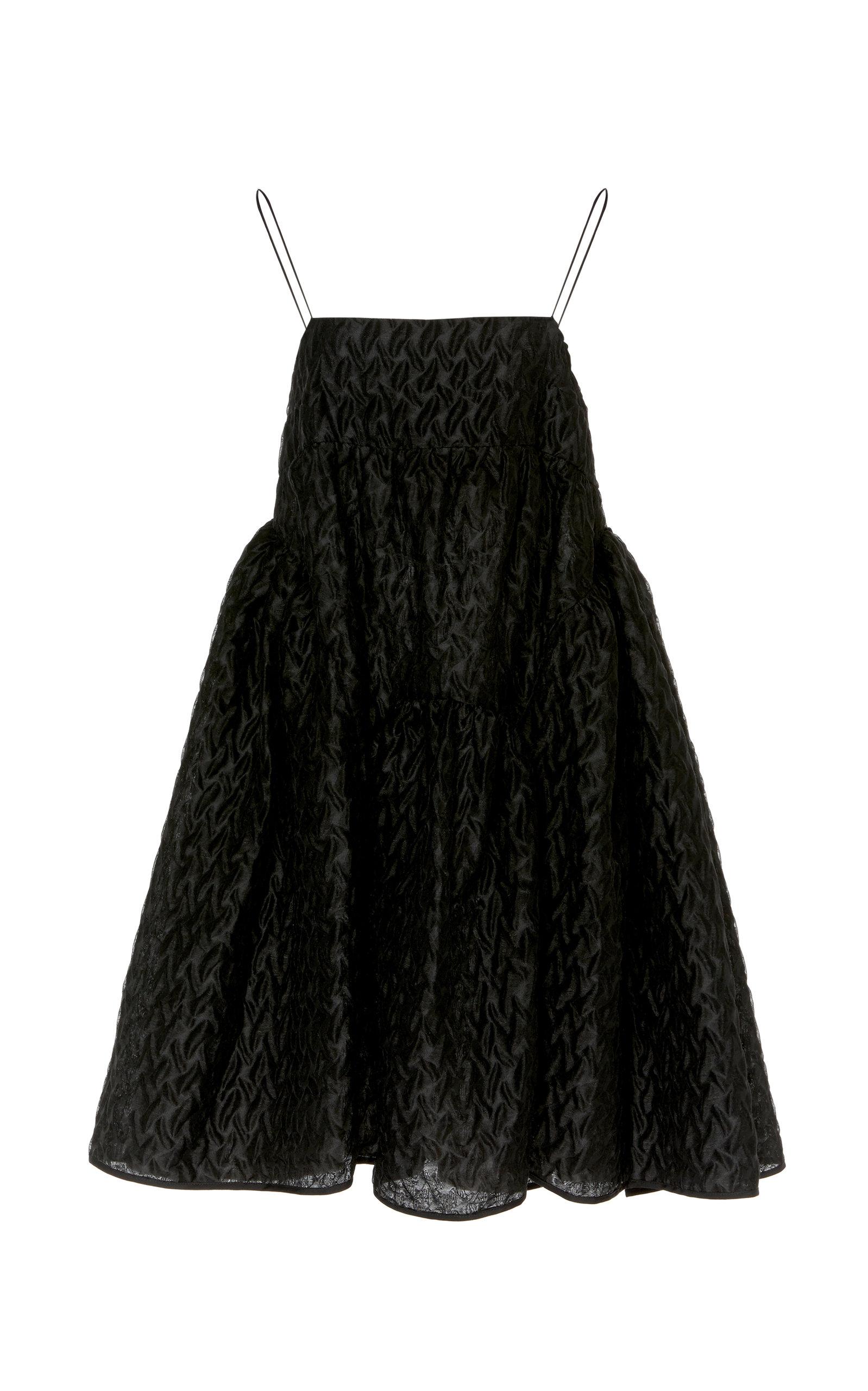 Buy Cecilie Bahnsen Elin Textured Linen-Blend Mini Dress online, shop Cecilie Bahnsen at the best price