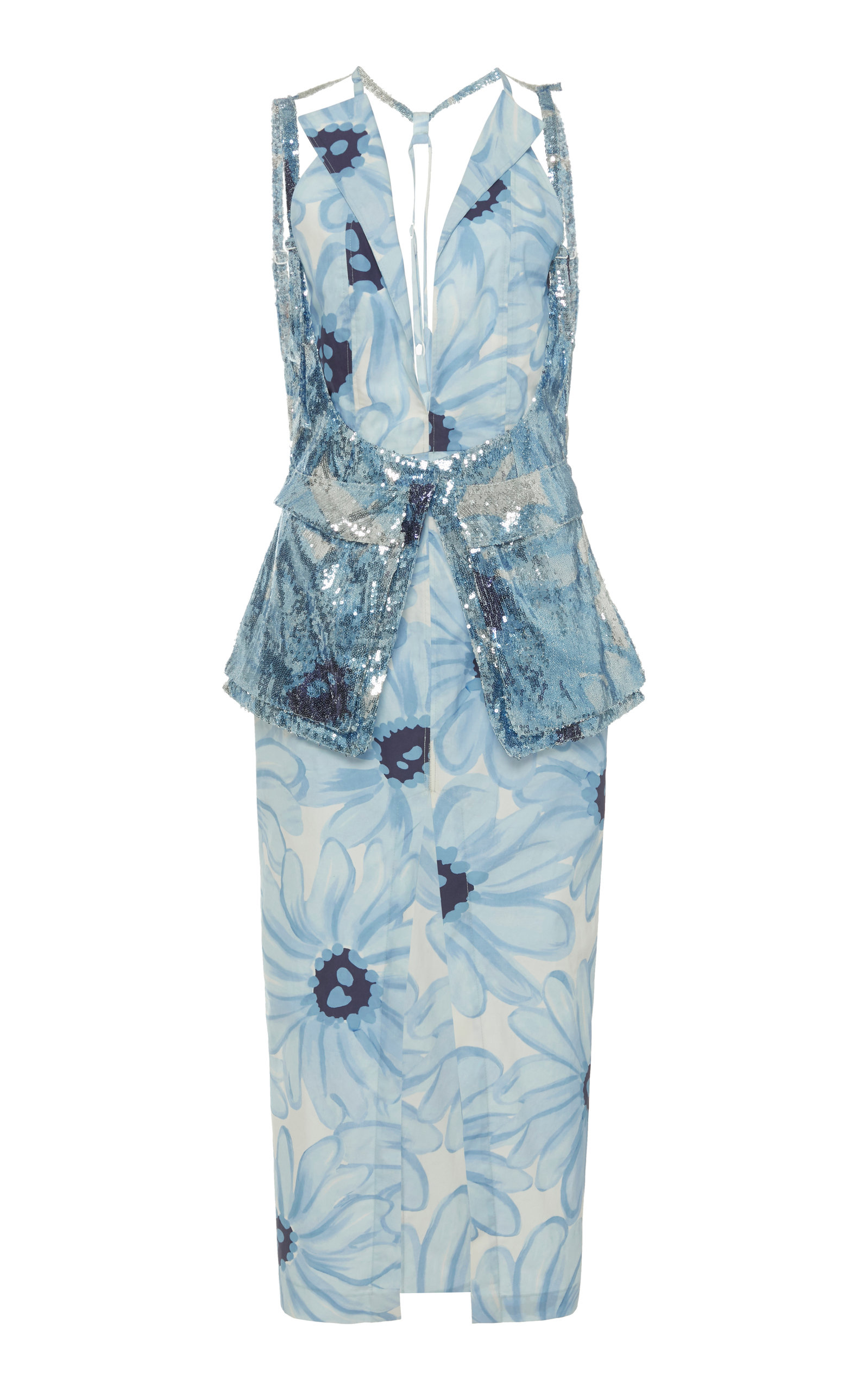 Buy Jacquemus La Robe Ascea Pocketed Harness Midi Dress online, shop Jacquemus at the best price