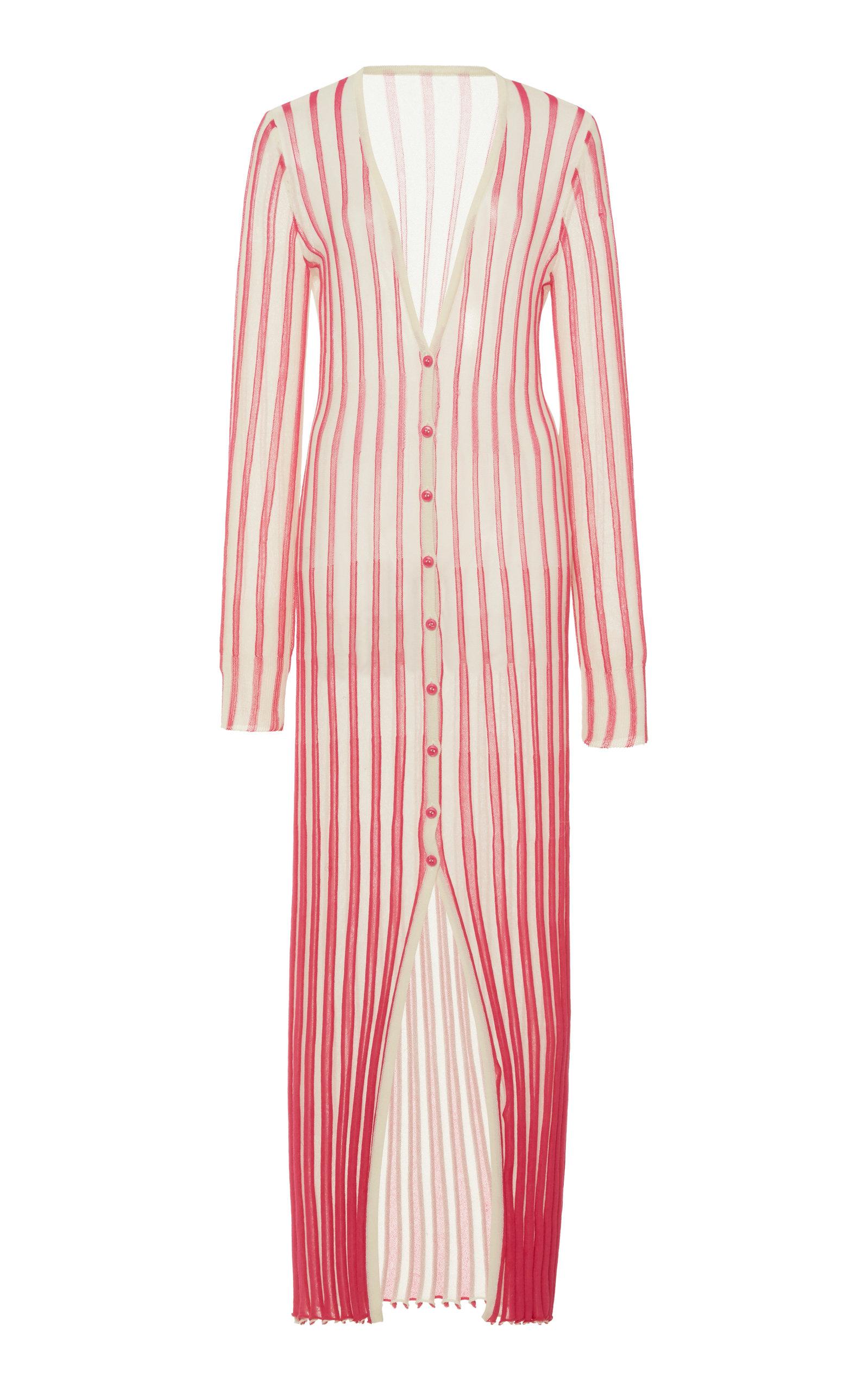 Buy Jacquemus La Robe Jacques Cotton-Knit Maxi Dress online, shop Jacquemus at the best price