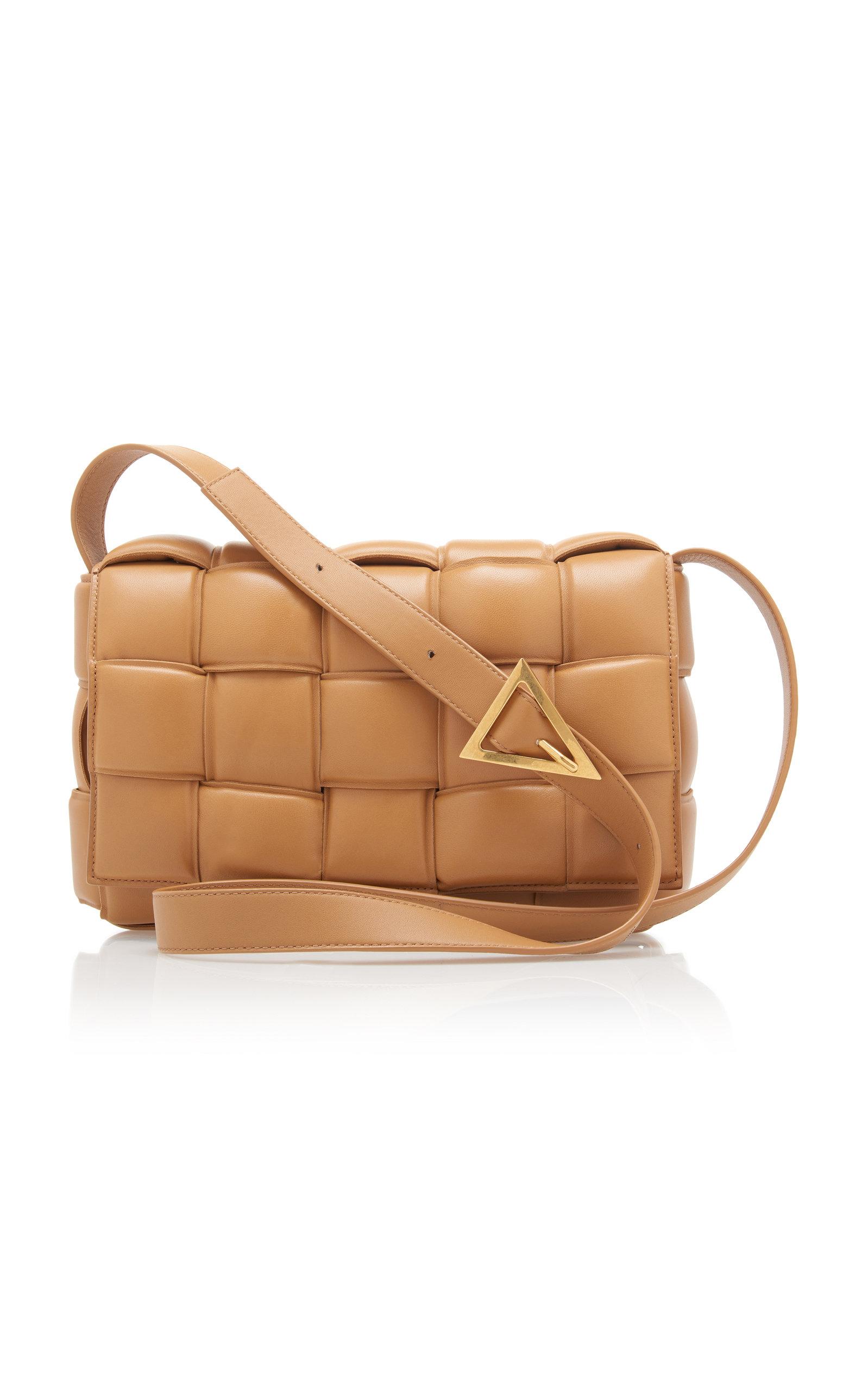 Bottega Veneta Padded Cassette Leather Bag In Tan