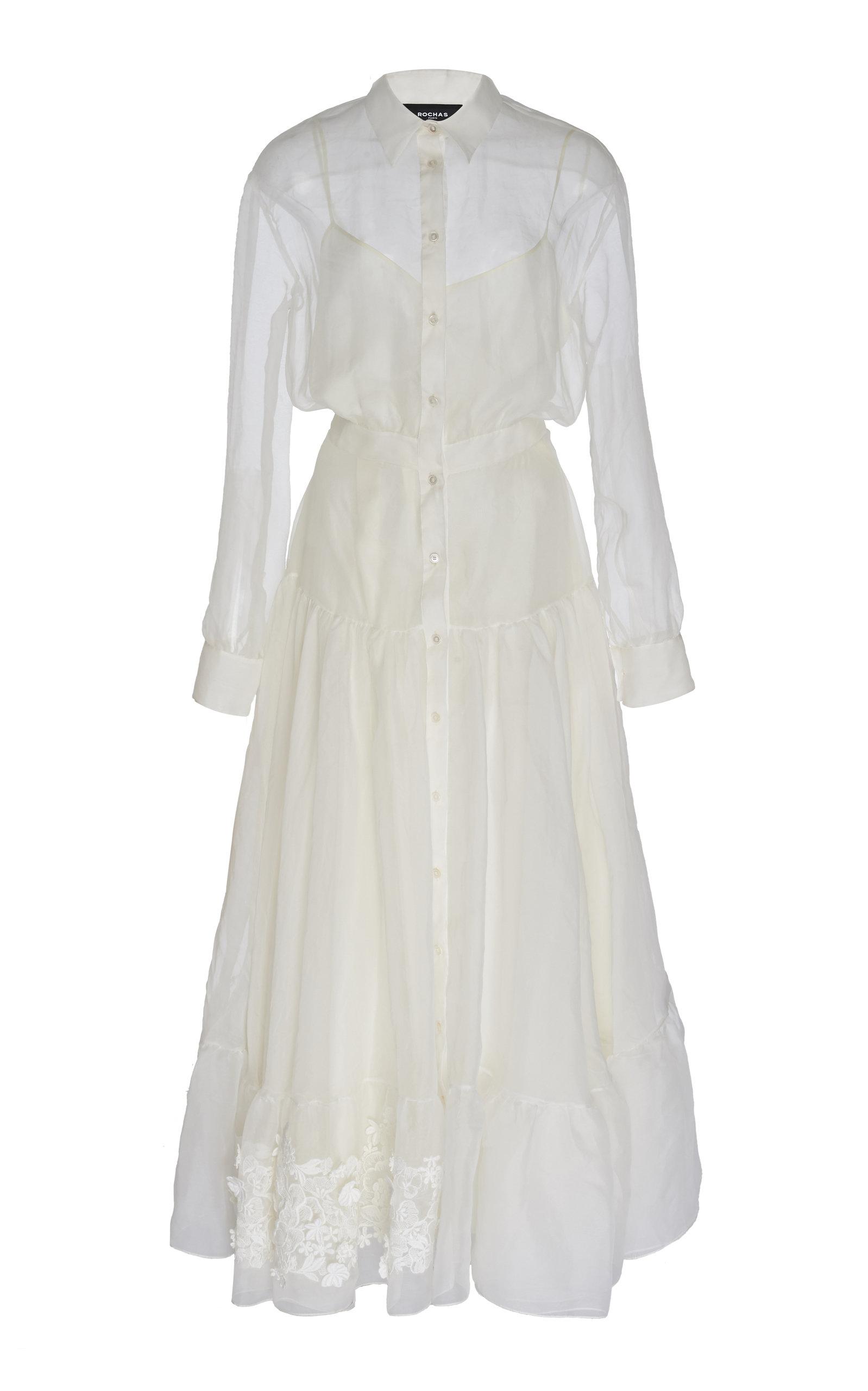 Buy Rochas Quaresima Woven Dress online, shop Rochas at the best price