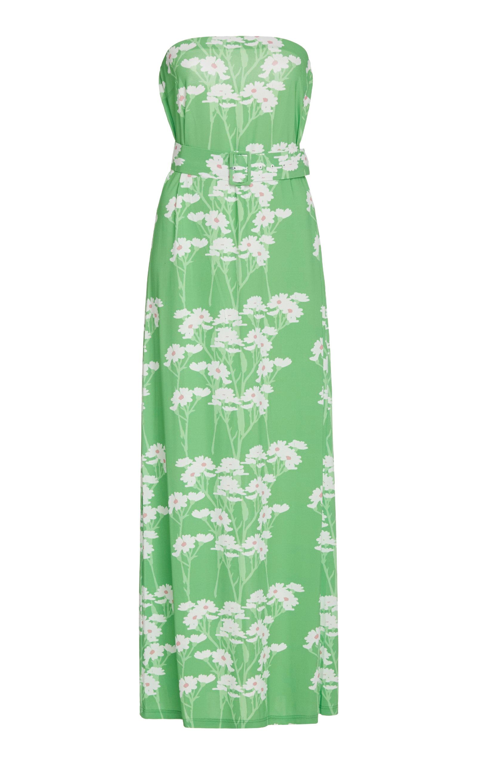 Buy Bernadette Antwerp Carrie Floral-Print Jersey Maxi Dress online, shop Bernadette Antwerp at the best price